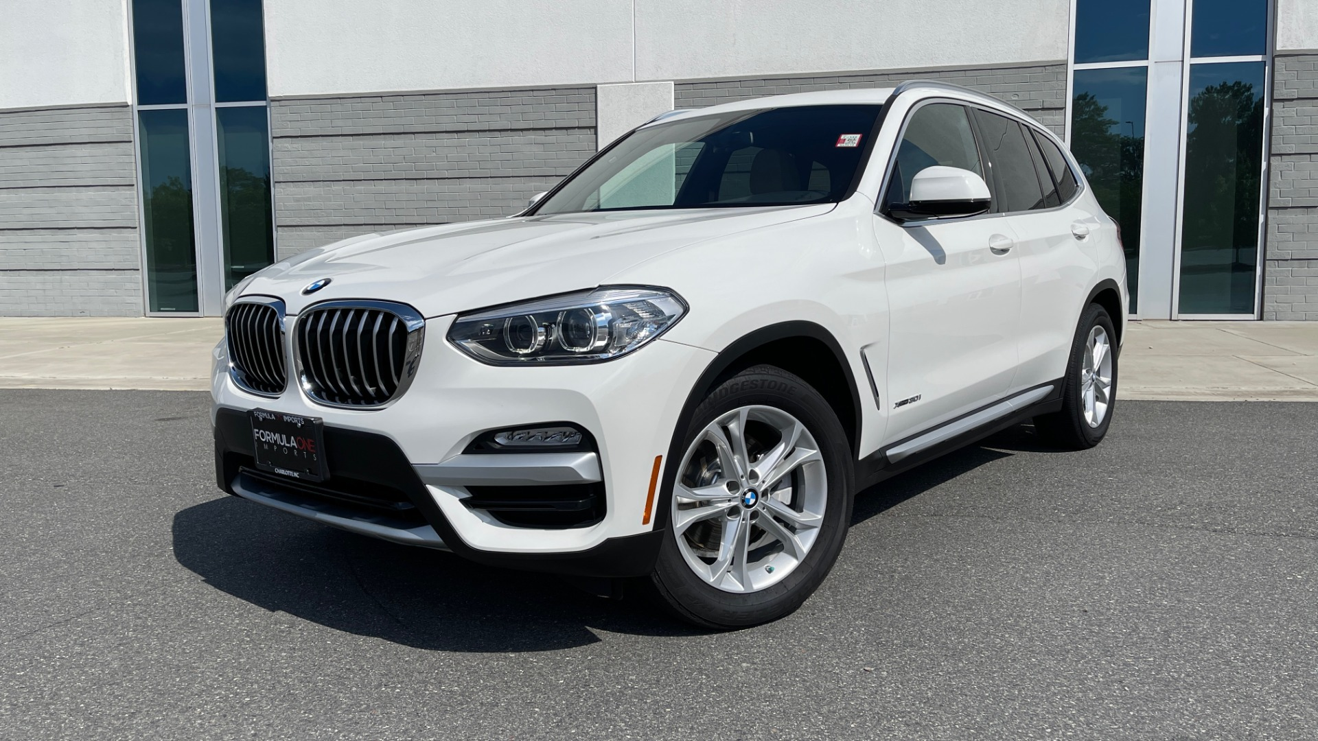 Used 2018 BMW X3 XDRIVE30I CONVENIENCE PKG / HEATED FRONT SEATS / REARVIEW for sale $36,595 at Formula Imports in Charlotte NC 28227 1