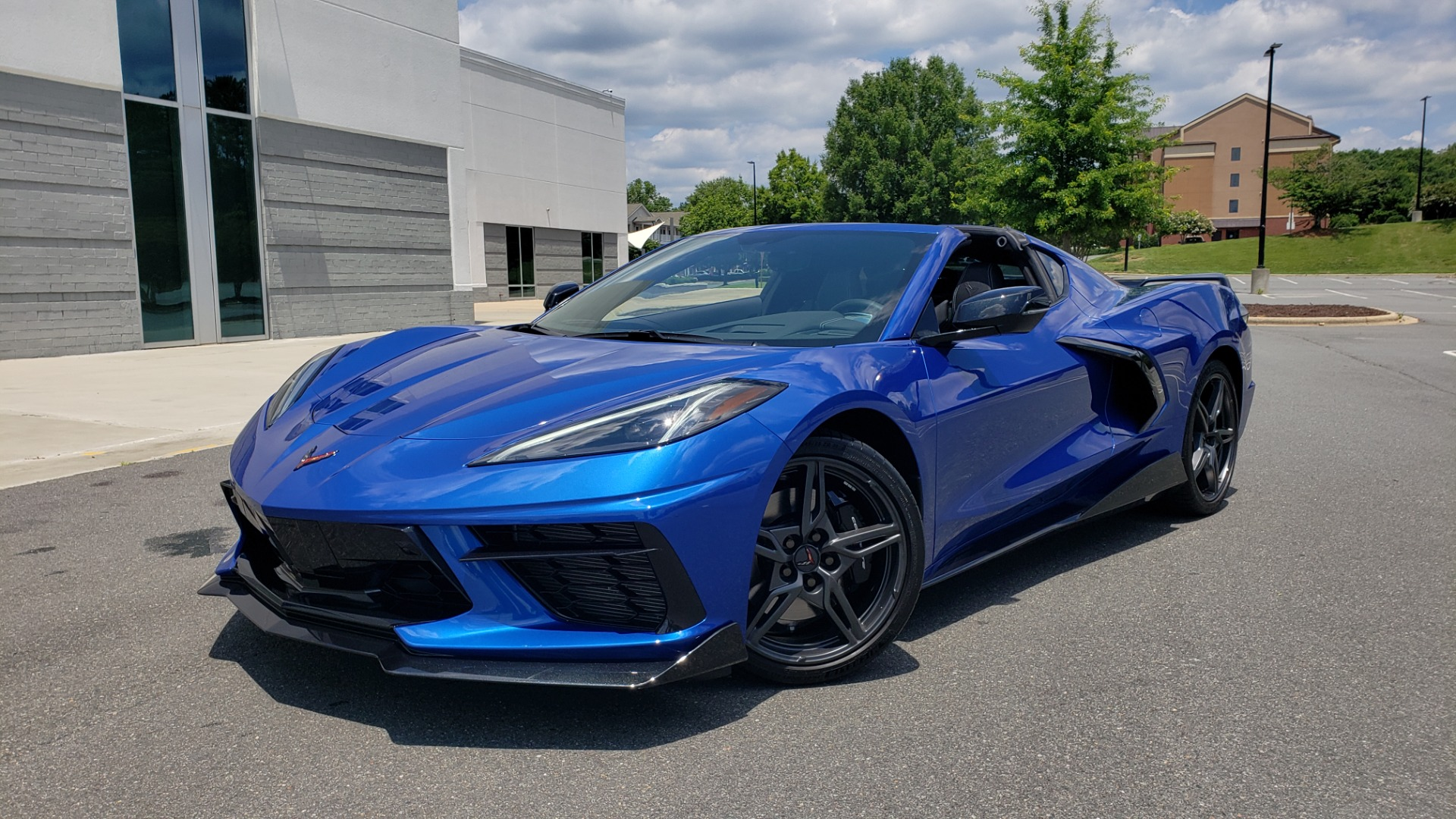 Used 2020 Chevrolet CORVETTE C8 STINGRAY COUPE 2LT / PERF & Z51 PKG / NAV / BOSE / 8-SPD AUTO / REARVIEW for sale Sold at Formula Imports in Charlotte NC 28227 12
