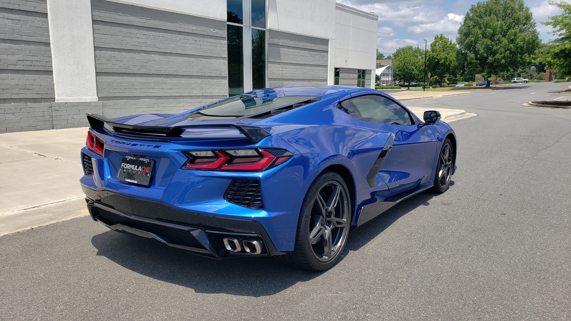 Used 2020 Chevrolet CORVETTE C8 STINGRAY COUPE 2LT / PERF & Z51 PKG / NAV / BOSE / 8-SPD AUTO / REARVIEW for sale Sold at Formula Imports in Charlotte NC 28227 2