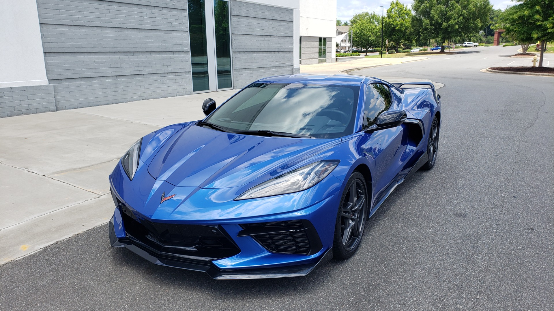 Used 2020 Chevrolet CORVETTE C8 STINGRAY COUPE 2LT / PERF & Z51 PKG / NAV / BOSE / 8-SPD AUTO / REARVIEW for sale Sold at Formula Imports in Charlotte NC 28227 3