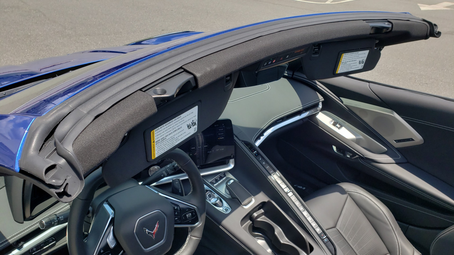 Used 2020 Chevrolet CORVETTE C8 STINGRAY COUPE 2LT / PERF & Z51 PKG / NAV / BOSE / 8-SPD AUTO / REARVIEW for sale Sold at Formula Imports in Charlotte NC 28227 43