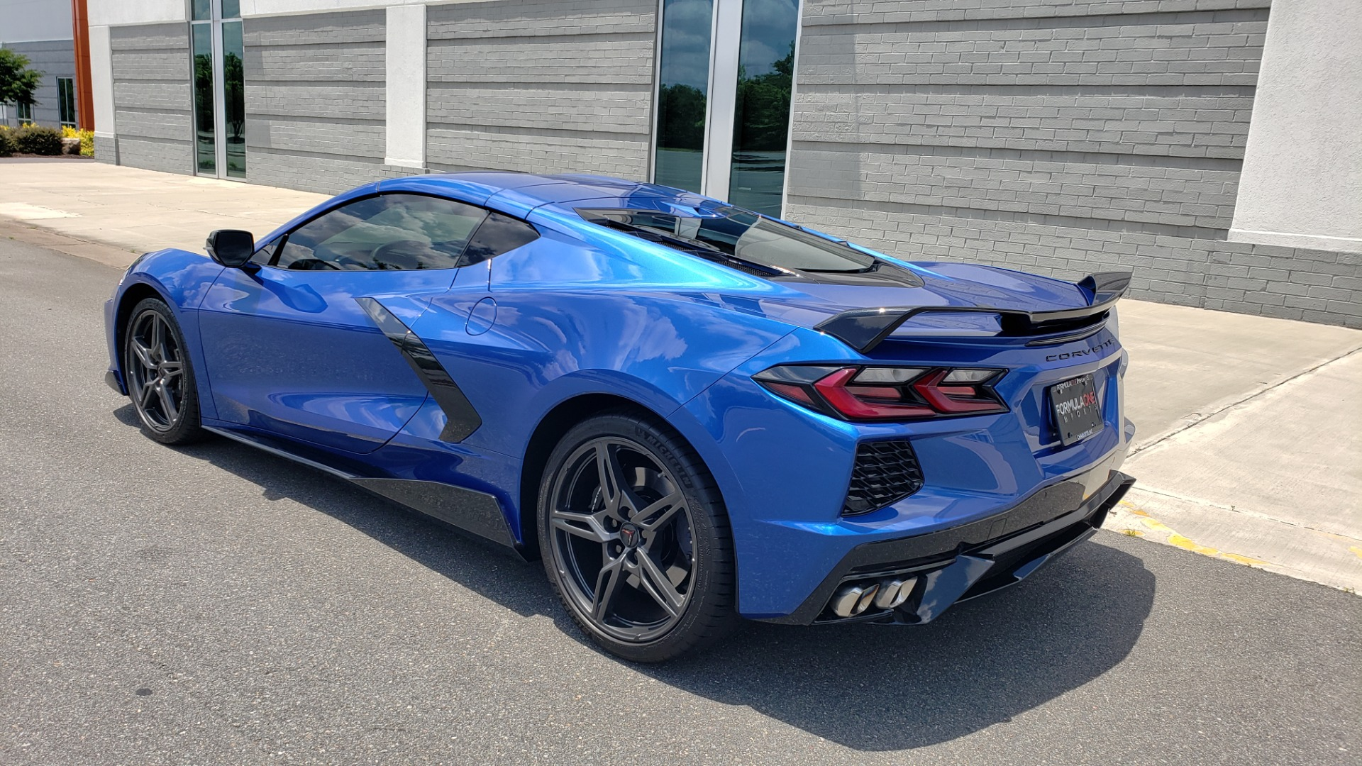 Used 2020 Chevrolet CORVETTE C8 STINGRAY COUPE 2LT / PERF & Z51 PKG / NAV / BOSE / 8-SPD AUTO / REARVIEW for sale Sold at Formula Imports in Charlotte NC 28227 6