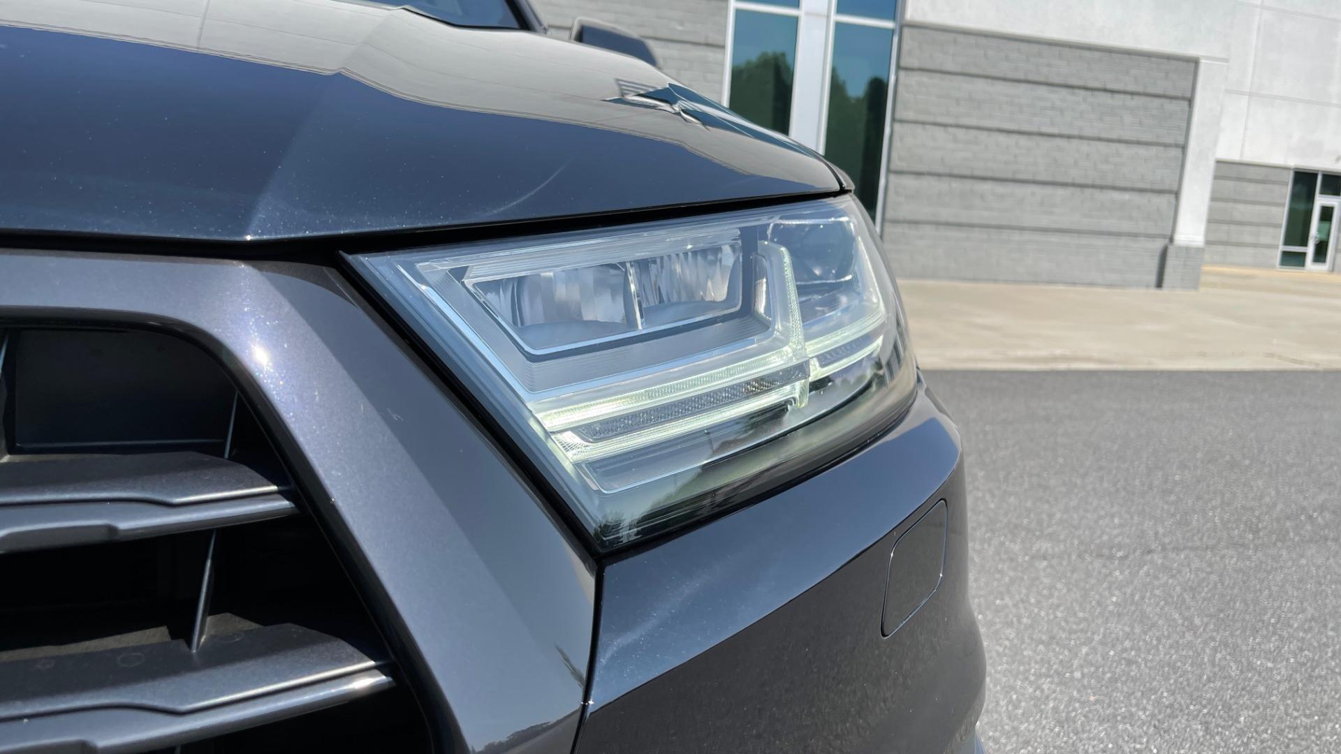 Used 2018 Audi Q7 PRESTIGE TIPTRONIC / NAV / SUNROOF / ADAPTIVE PKG / DRVR ASST / CLD WTHR /  for sale $49,995 at Formula Imports in Charlotte NC 28227 11