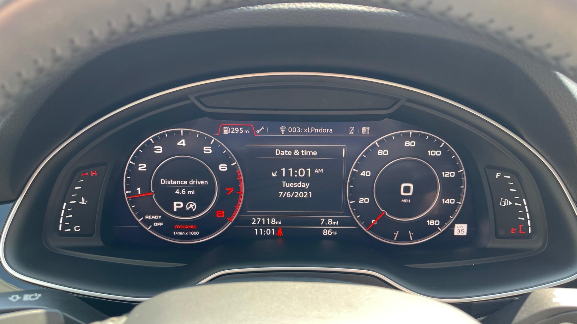 Used 2018 Audi Q7 PRESTIGE TIPTRONIC / NAV / SUNROOF / ADAPTIVE PKG / DRVR ASST / CLD WTHR /  for sale $49,995 at Formula Imports in Charlotte NC 28227 38