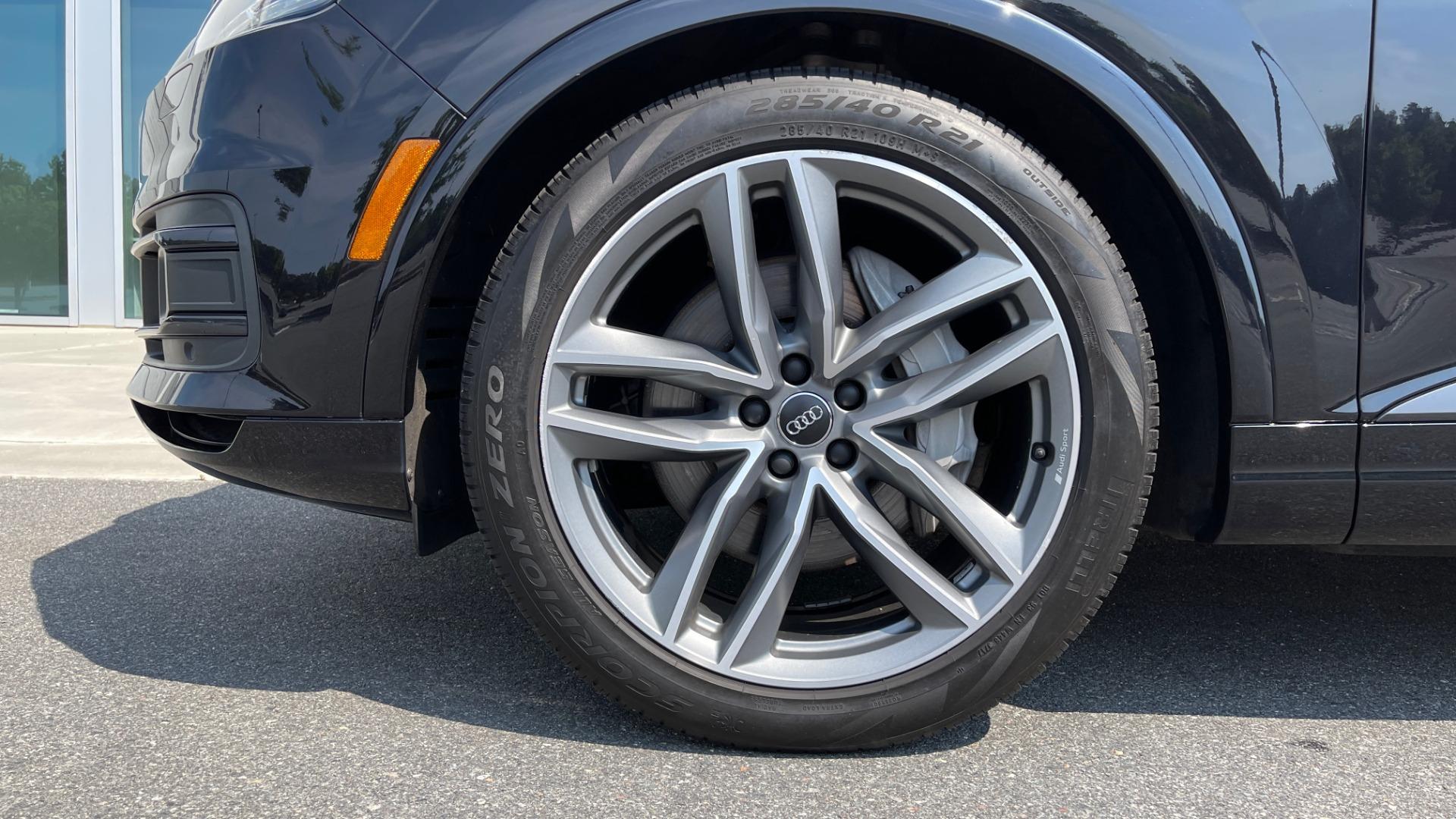Used 2018 Audi Q7 PRESTIGE TIPTRONIC / NAV / SUNROOF / ADAPTIVE PKG / DRVR ASST / CLD WTHR /  for sale $49,995 at Formula Imports in Charlotte NC 28227 74
