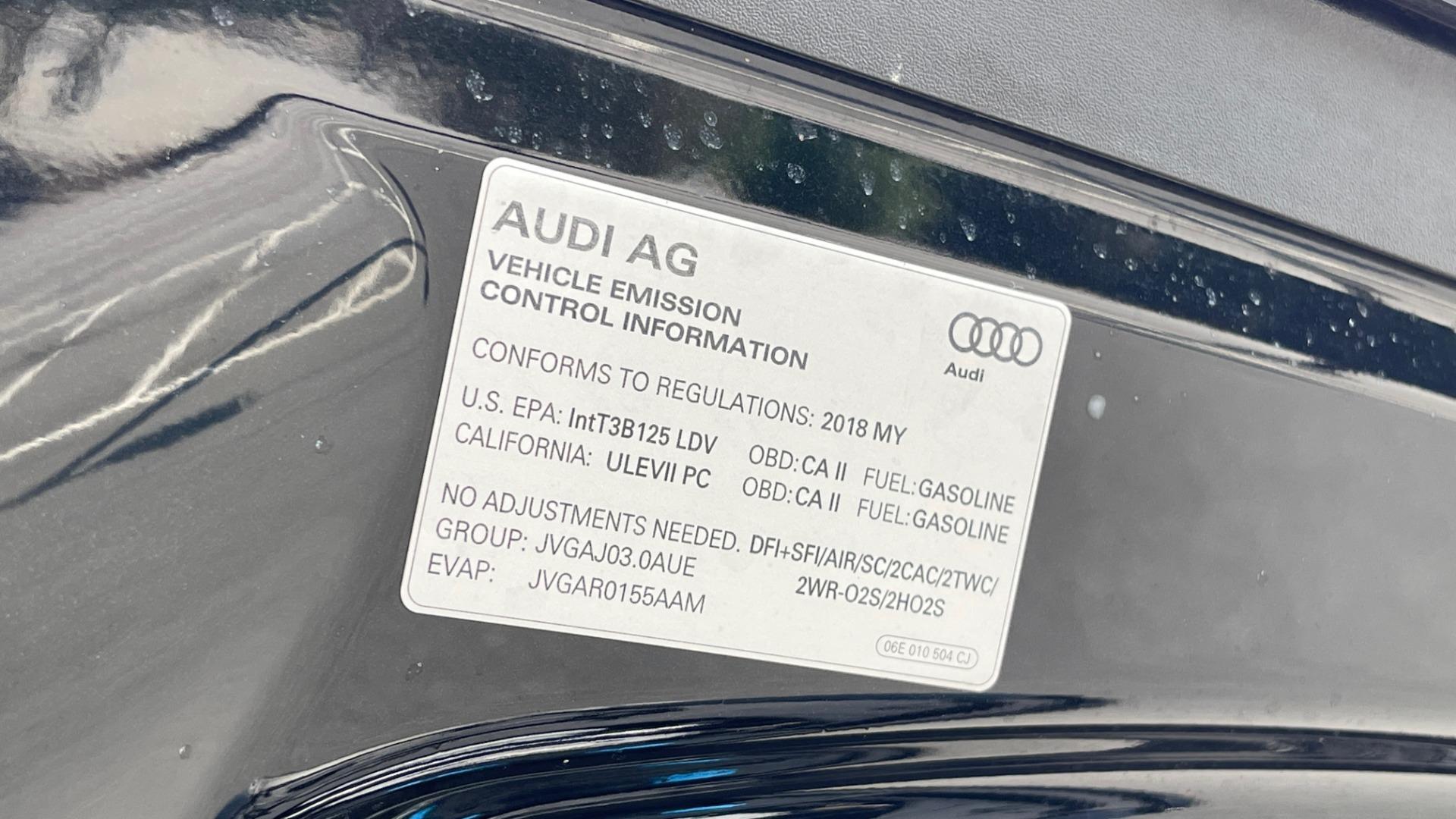 Used 2018 Audi Q7 PRESTIGE TIPTRONIC / NAV / SUNROOF / ADAPTIVE PKG / DRVR ASST / CLD WTHR /  for sale $49,995 at Formula Imports in Charlotte NC 28227 8