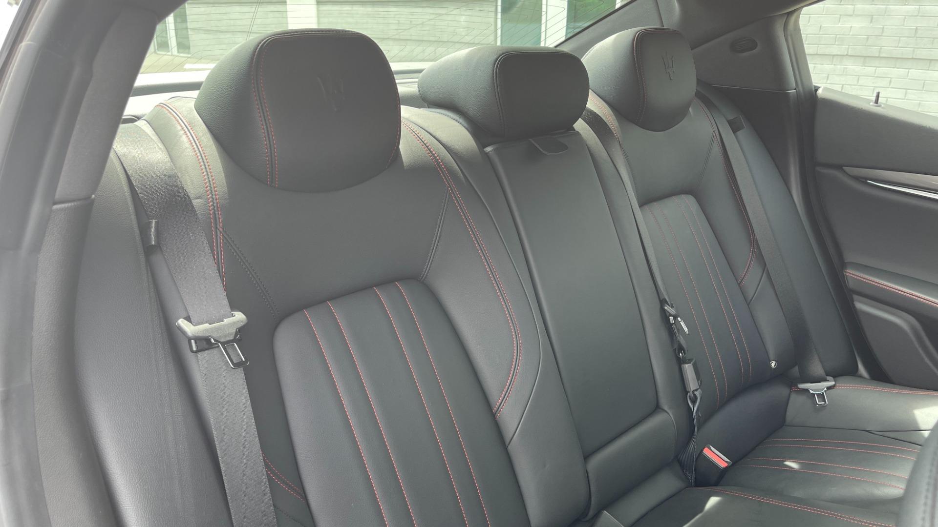 Used 2018 Maserati GHIBLI S Q4 SEDAN / AWD / 3.0L V6 / SUNROOF / NAV / REARVIEW for sale $51,995 at Formula Imports in Charlotte NC 28227 60