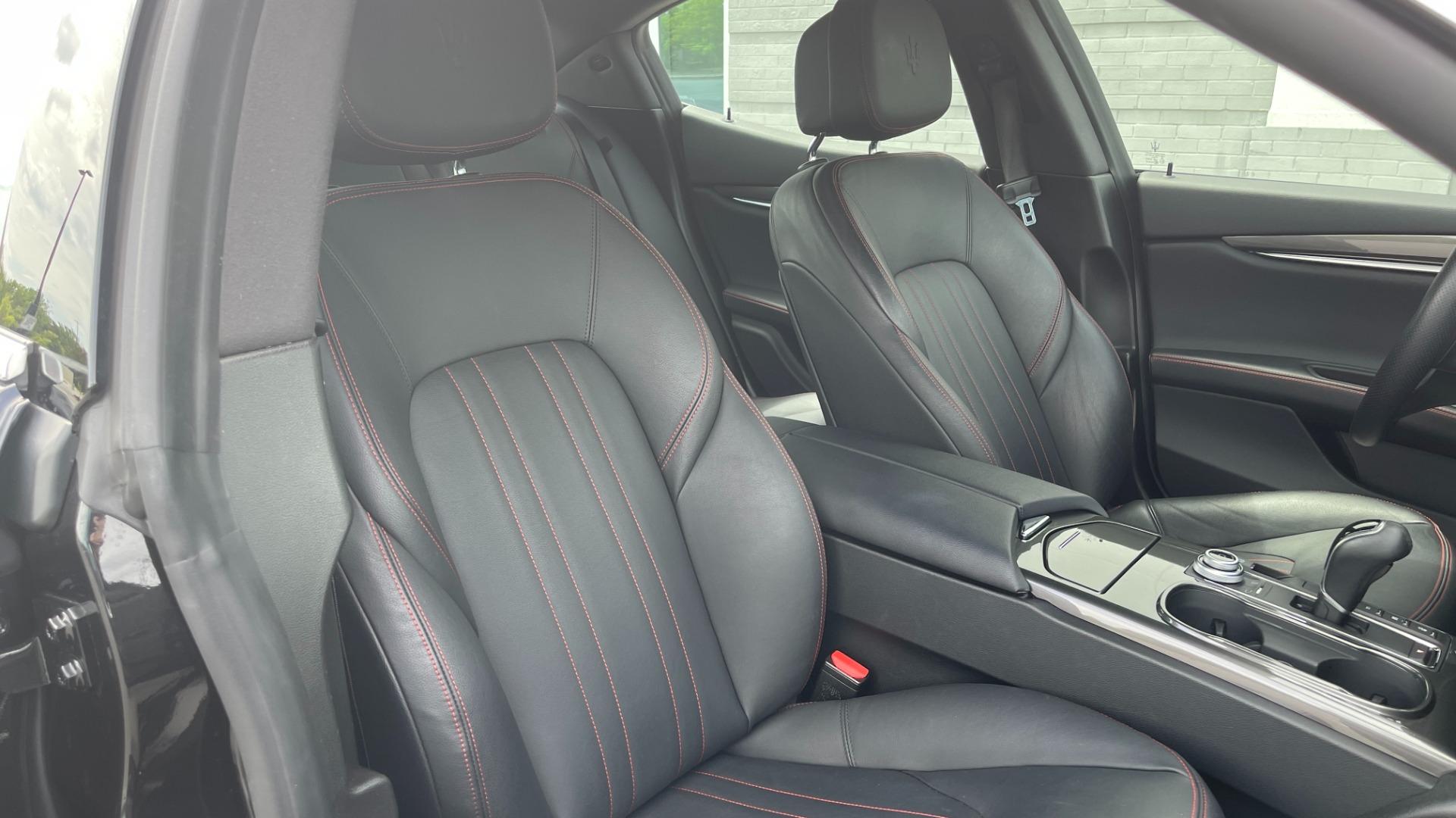 Used 2018 Maserati GHIBLI S Q4 SEDAN / AWD / 3.0L V6 / SUNROOF / NAV / REARVIEW for sale $51,995 at Formula Imports in Charlotte NC 28227 63