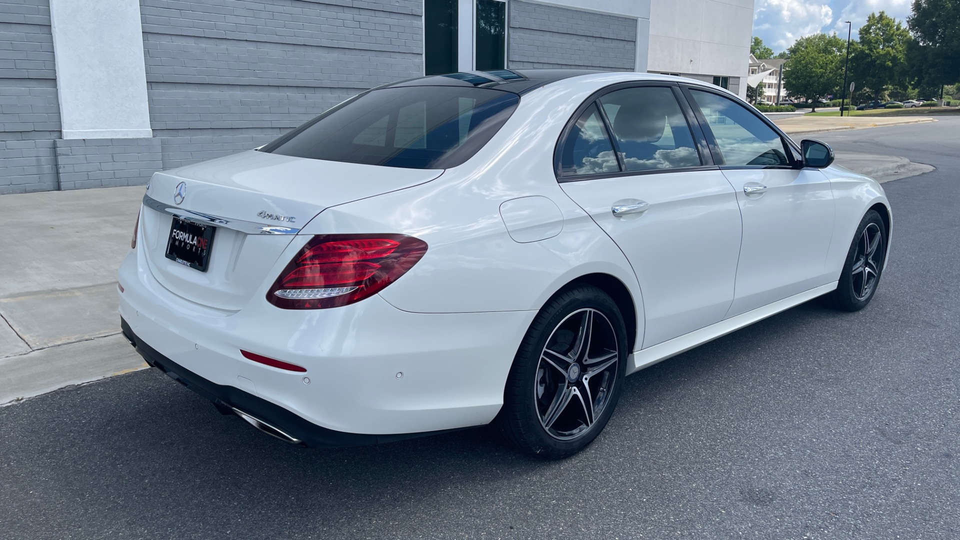 Used 2018 Mercedes-Benz E-CLASS E 300 PREMIUM / NIGHT PKG / PANO-ROOF / BURMESTER / REARVIEW for sale $42,399 at Formula Imports in Charlotte NC 28227 2
