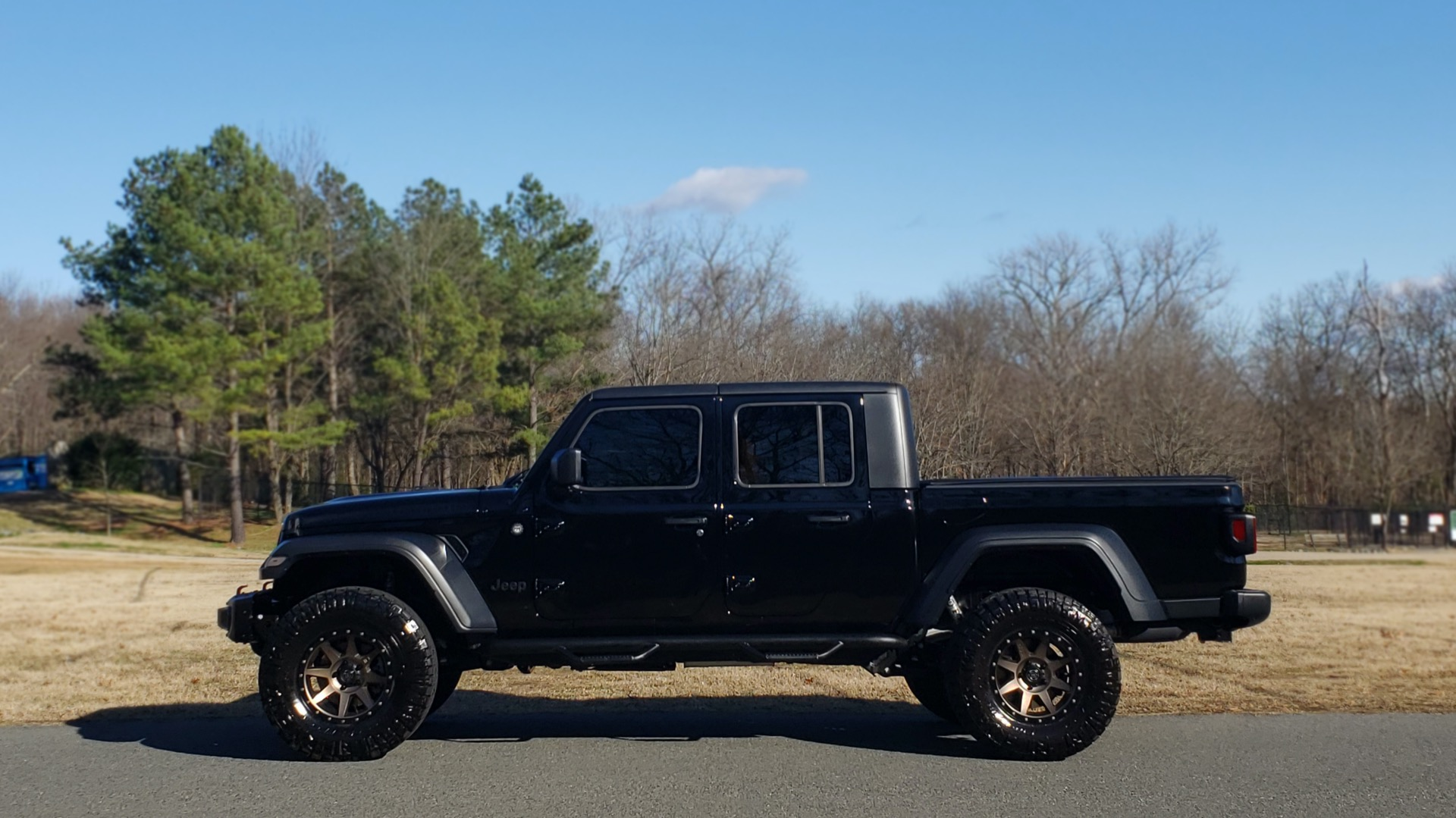 Used 2020 Jeep GLADIATOR SPORT S 4X4 / FREEDOM TOP / NAV / ALPINE / COLD WTHR for sale Sold at Formula Imports in Charlotte NC 28227 3