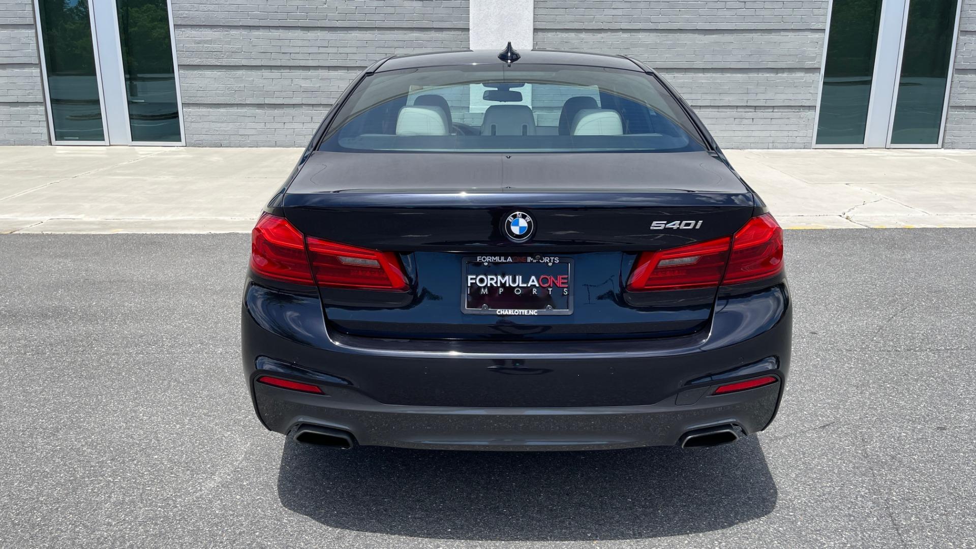 Used 2018 BMW 5 SERIES 540I M-SPORT / EXECUTIVE PKG / DRVR ASST PKG / BLIND SPOT / LANE DEPART for sale $40,995 at Formula Imports in Charlotte NC 28227 26