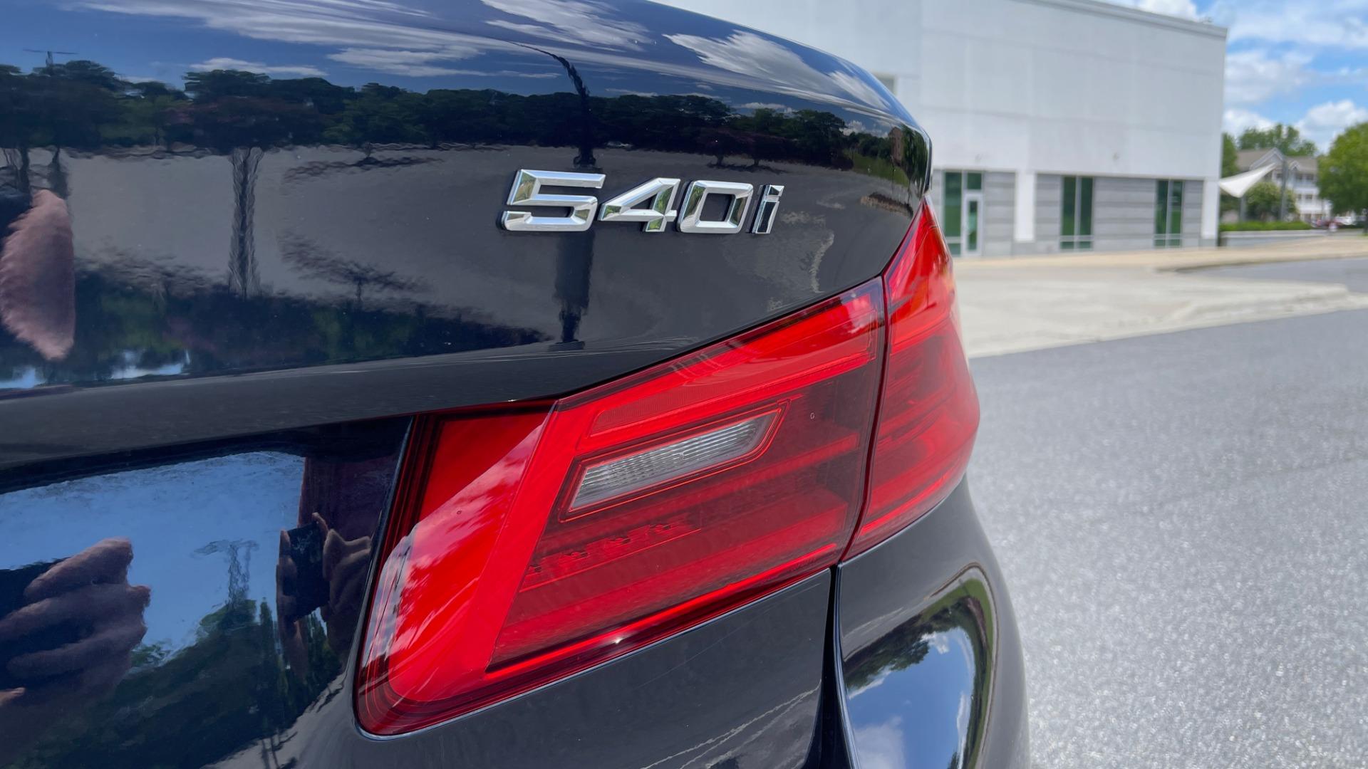 Used 2018 BMW 5 SERIES 540I M-SPORT / EXECUTIVE PKG / DRVR ASST PKG / BLIND SPOT / LANE DEPART for sale $40,995 at Formula Imports in Charlotte NC 28227 28
