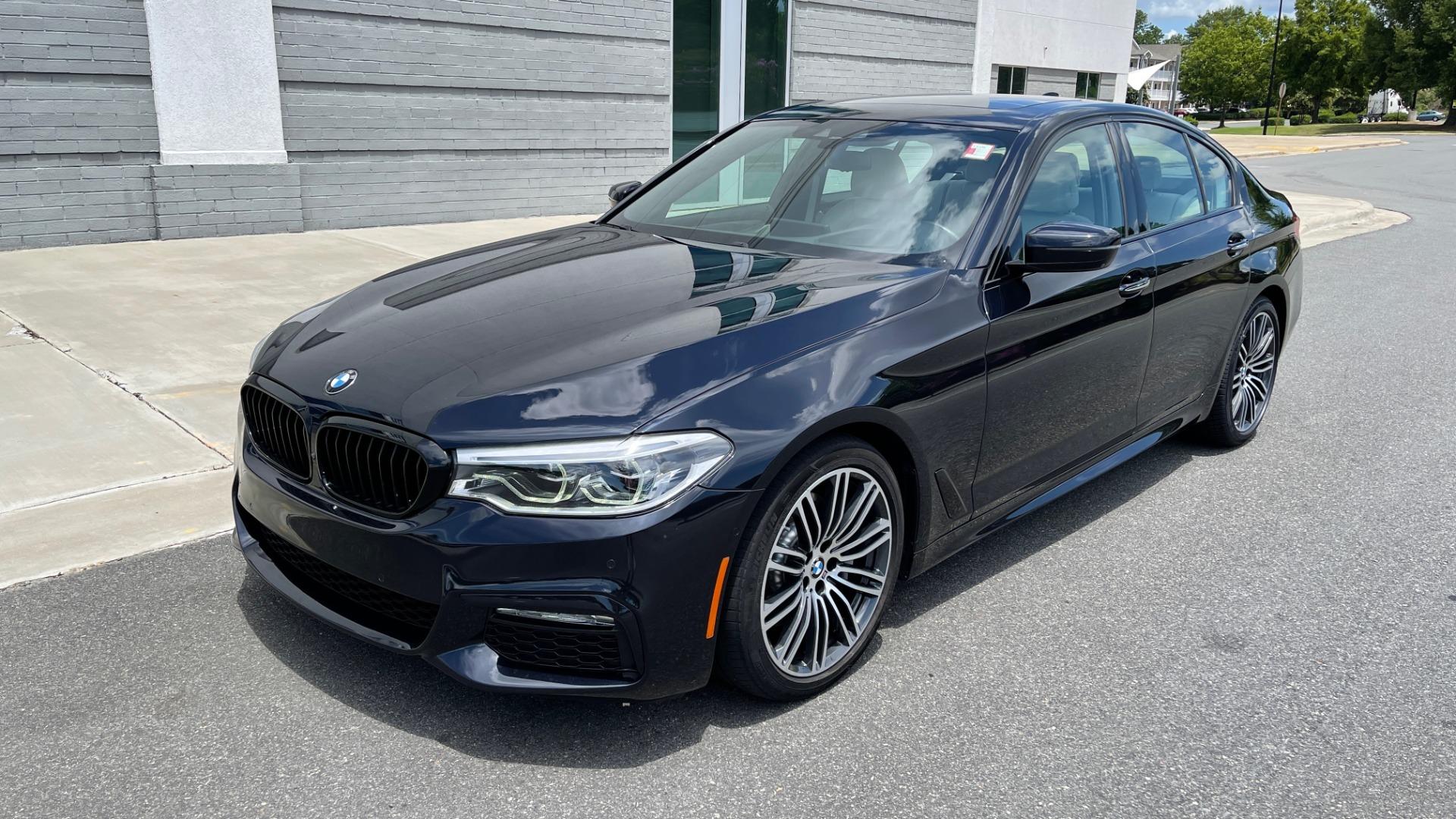 Used 2018 BMW 5 SERIES 540I M-SPORT / EXECUTIVE PKG / DRVR ASST PKG / BLIND SPOT / LANE DEPART for sale $40,995 at Formula Imports in Charlotte NC 28227 3