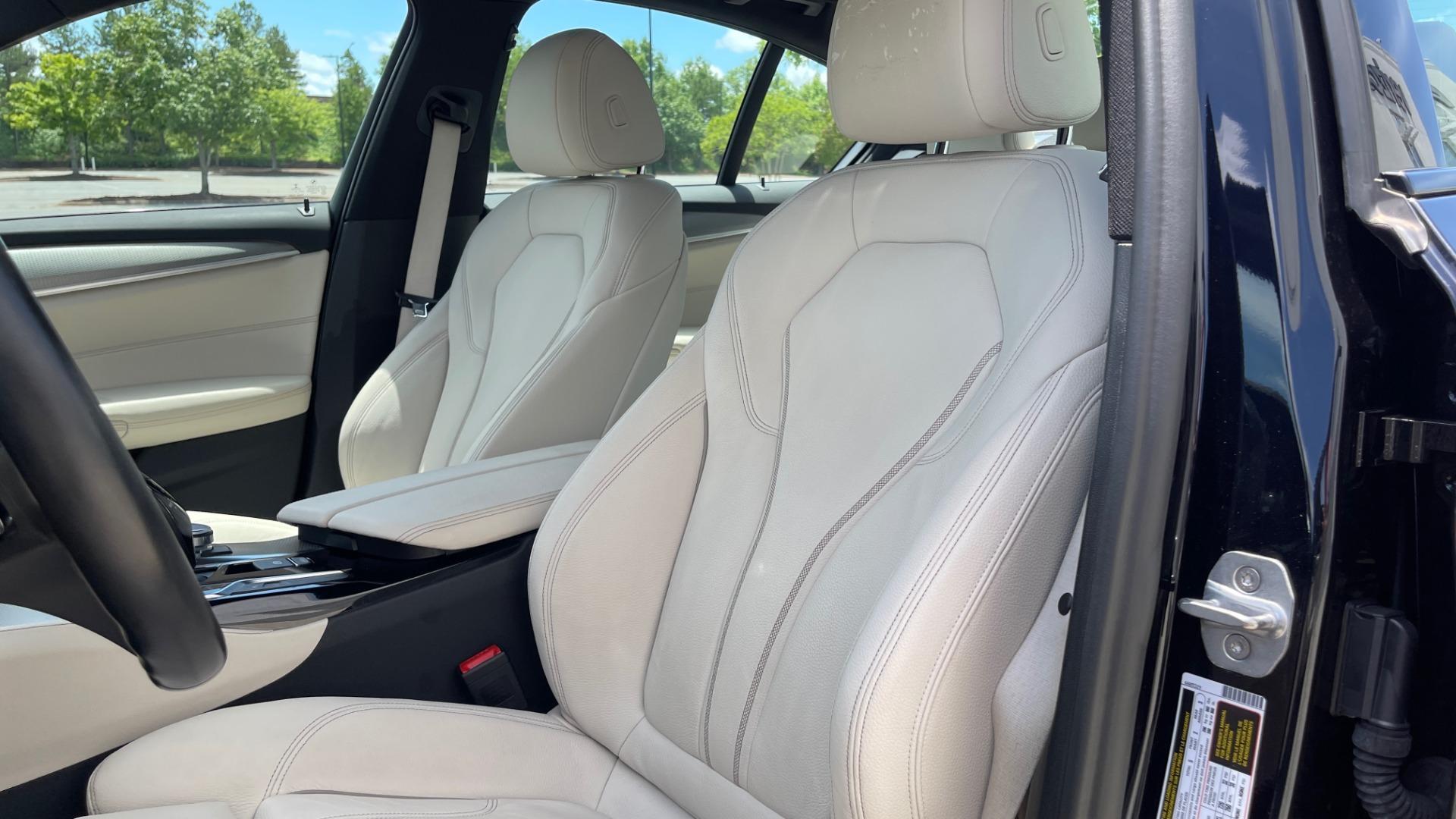Used 2018 BMW 5 SERIES 540I M-SPORT / EXECUTIVE PKG / DRVR ASST PKG / BLIND SPOT / LANE DEPART for sale $40,995 at Formula Imports in Charlotte NC 28227 36