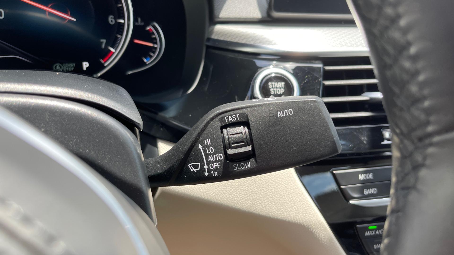 Used 2018 BMW 5 SERIES 540I M-SPORT / EXECUTIVE PKG / DRVR ASST PKG / BLIND SPOT / LANE DEPART for sale $40,995 at Formula Imports in Charlotte NC 28227 42