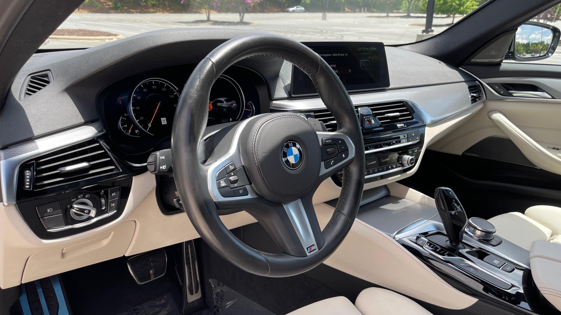 Used 2018 BMW 5 SERIES 540I M-SPORT / EXECUTIVE PKG / DRVR ASST PKG / BLIND SPOT / LANE DEPART for sale $40,995 at Formula Imports in Charlotte NC 28227 44