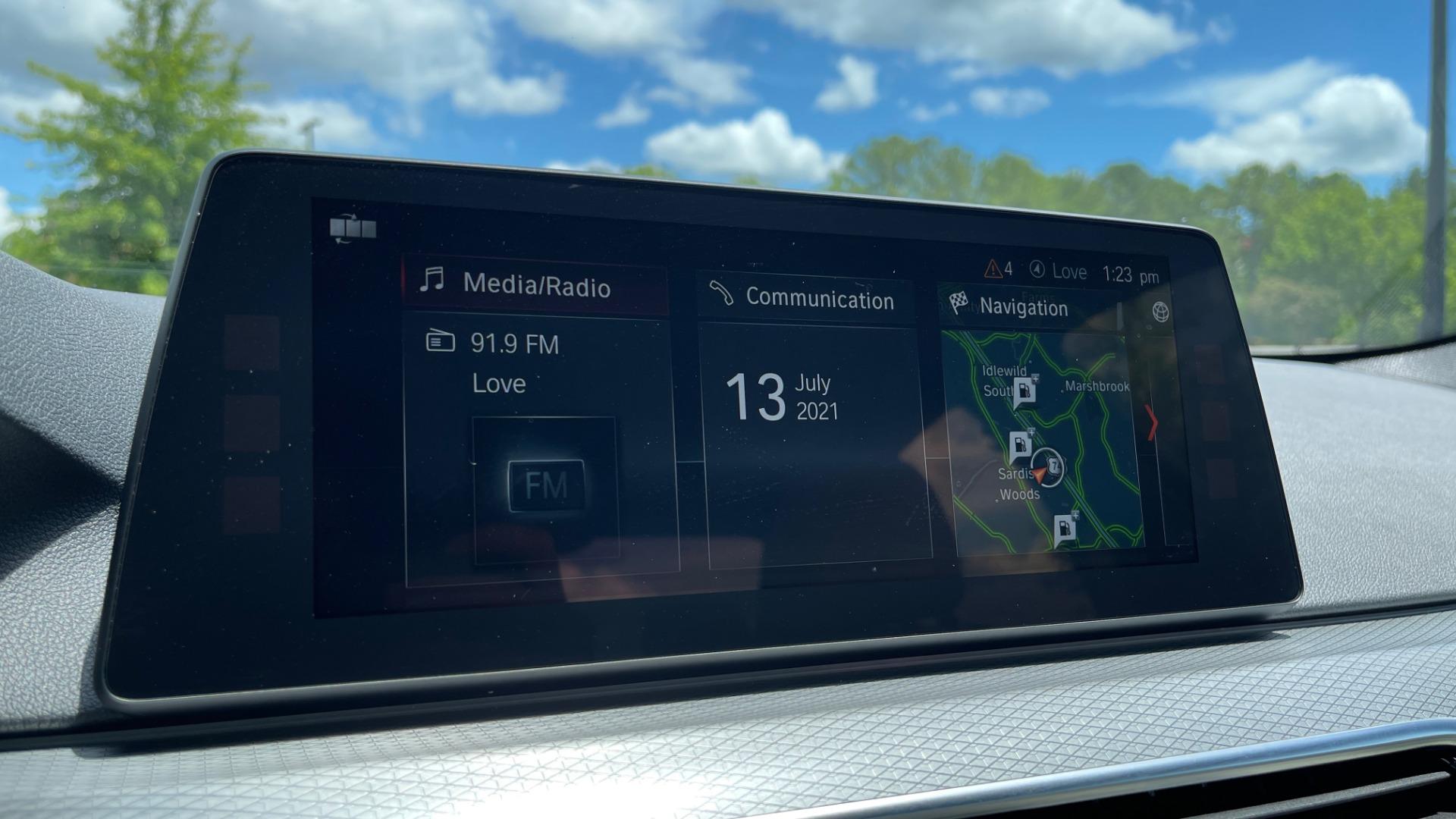 Used 2018 BMW 5 SERIES 540I M-SPORT / EXECUTIVE PKG / DRVR ASST PKG / BLIND SPOT / LANE DEPART for sale $40,995 at Formula Imports in Charlotte NC 28227 50