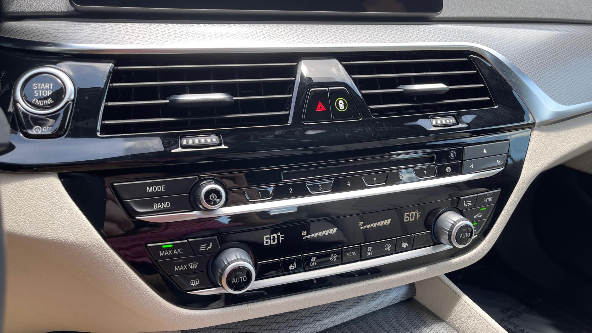 Used 2018 BMW 5 SERIES 540I M-SPORT / EXECUTIVE PKG / DRVR ASST PKG / BLIND SPOT / LANE DEPART for sale $40,995 at Formula Imports in Charlotte NC 28227 52