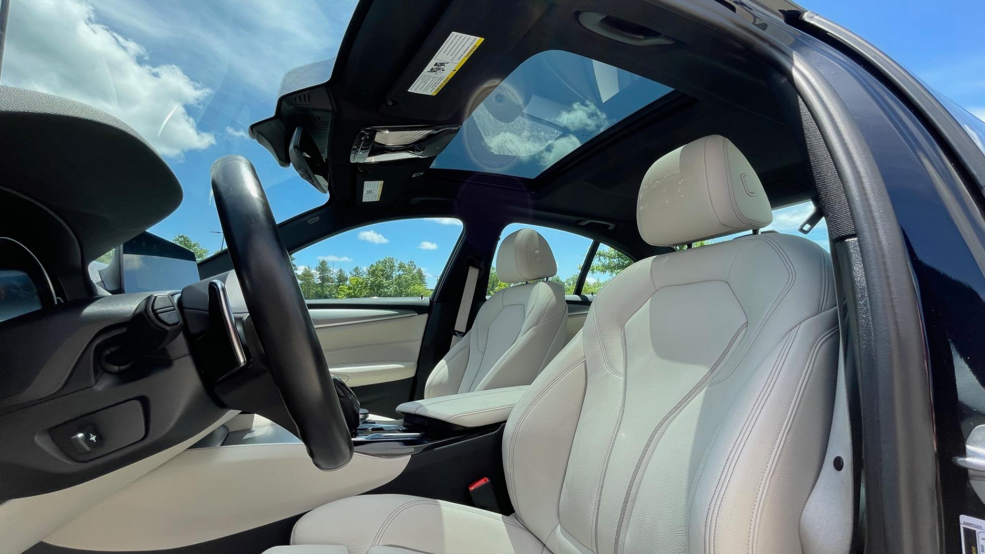 Used 2018 BMW 5 SERIES 540I M-SPORT / EXECUTIVE PKG / DRVR ASST PKG / BLIND SPOT / LANE DEPART for sale $40,995 at Formula Imports in Charlotte NC 28227 56