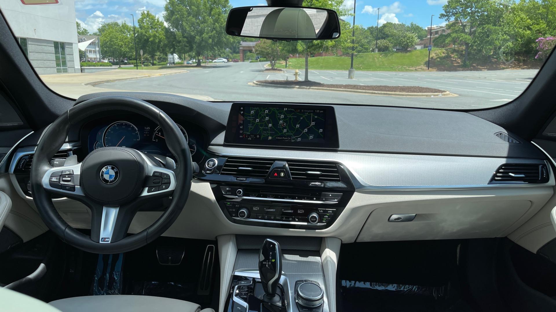 Used 2018 BMW 5 SERIES 540I M-SPORT / EXECUTIVE PKG / DRVR ASST PKG / BLIND SPOT / LANE DEPART for sale $40,995 at Formula Imports in Charlotte NC 28227 63