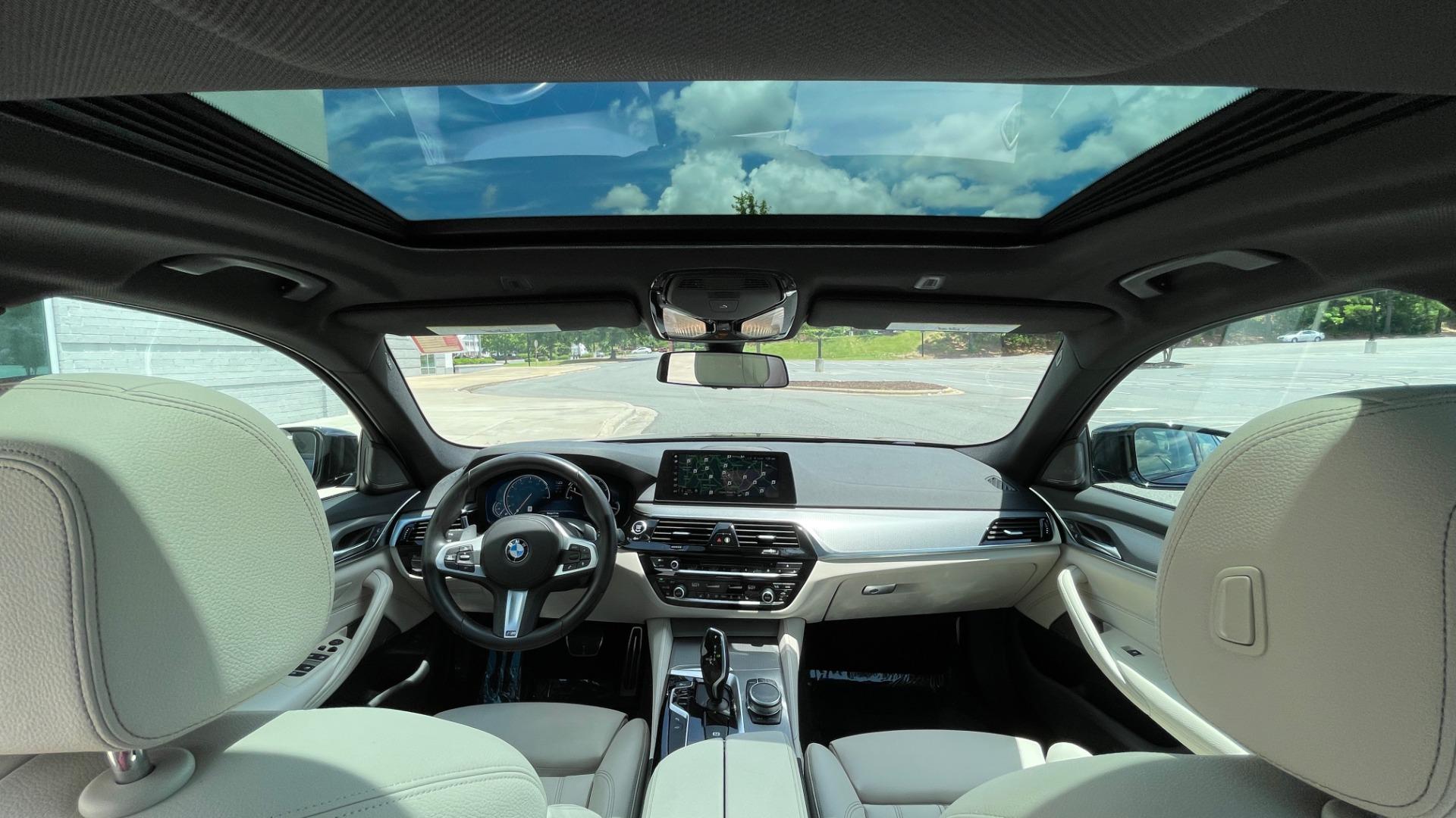 Used 2018 BMW 5 SERIES 540I M-SPORT / EXECUTIVE PKG / DRVR ASST PKG / BLIND SPOT / LANE DEPART for sale $40,995 at Formula Imports in Charlotte NC 28227 64