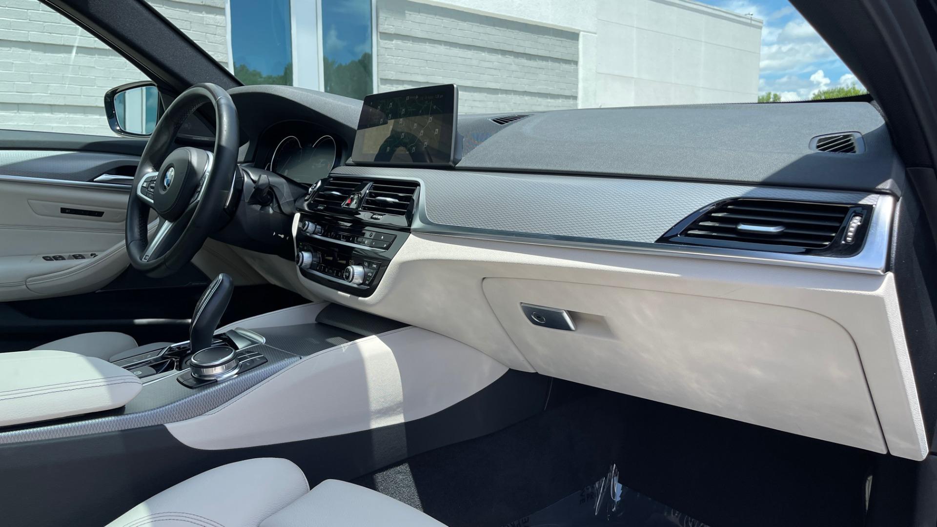 Used 2018 BMW 5 SERIES 540I M-SPORT / EXECUTIVE PKG / DRVR ASST PKG / BLIND SPOT / LANE DEPART for sale $40,995 at Formula Imports in Charlotte NC 28227 73