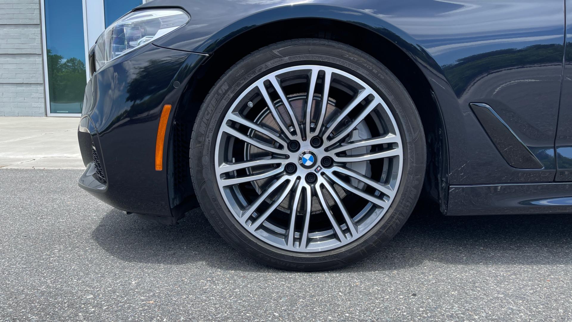 Used 2018 BMW 5 SERIES 540I M-SPORT / EXECUTIVE PKG / DRVR ASST PKG / BLIND SPOT / LANE DEPART for sale $40,995 at Formula Imports in Charlotte NC 28227 74