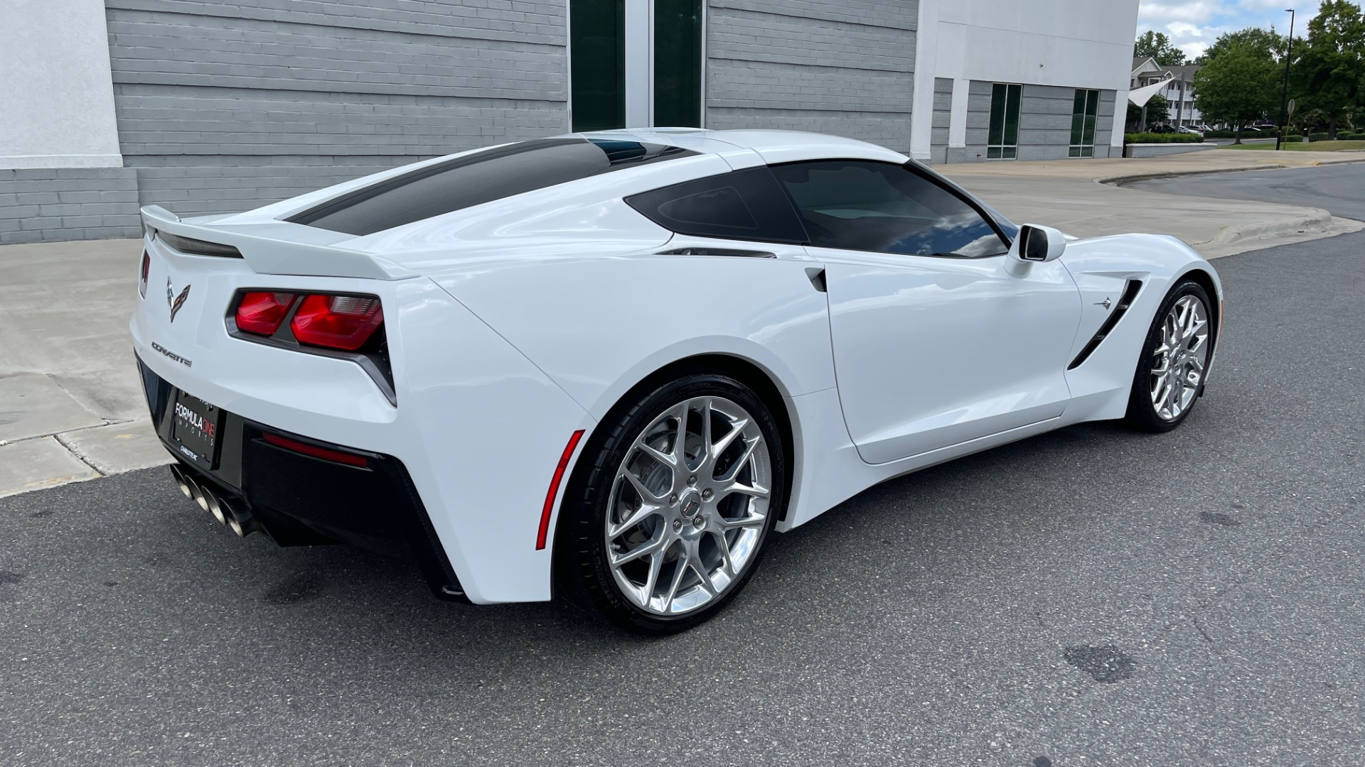 Used 2016 Chevrolet CORVETTE C7 STINGRAY COUPE Z51 3LT / NAV / PERF TRACTION MGMT / REARVIEW for sale Sold at Formula Imports in Charlotte NC 28227 3