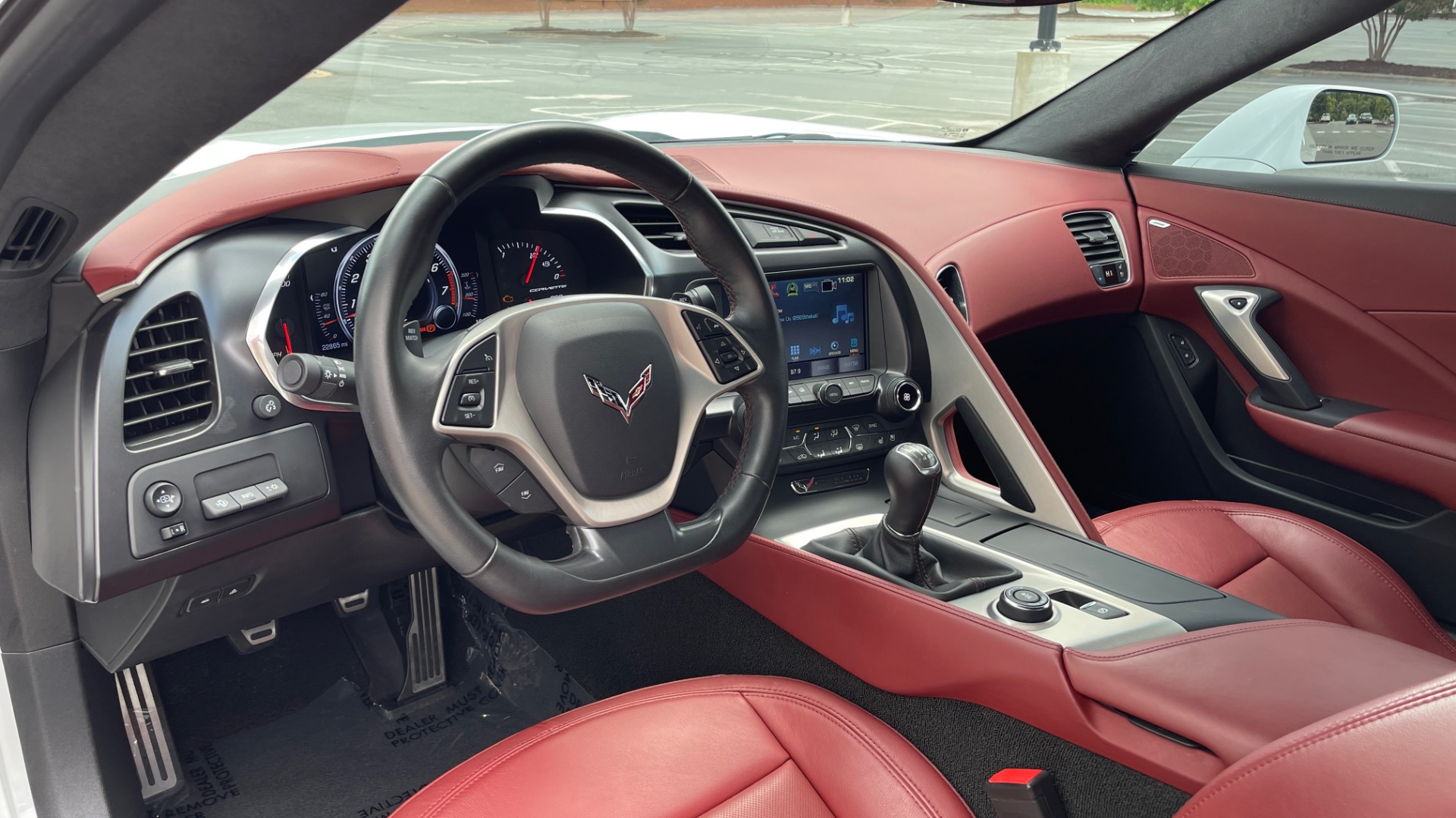 Used 2016 Chevrolet CORVETTE C7 STINGRAY COUPE Z51 3LT / NAV / PERF TRACTION MGMT / REARVIEW for sale Sold at Formula Imports in Charlotte NC 28227 39