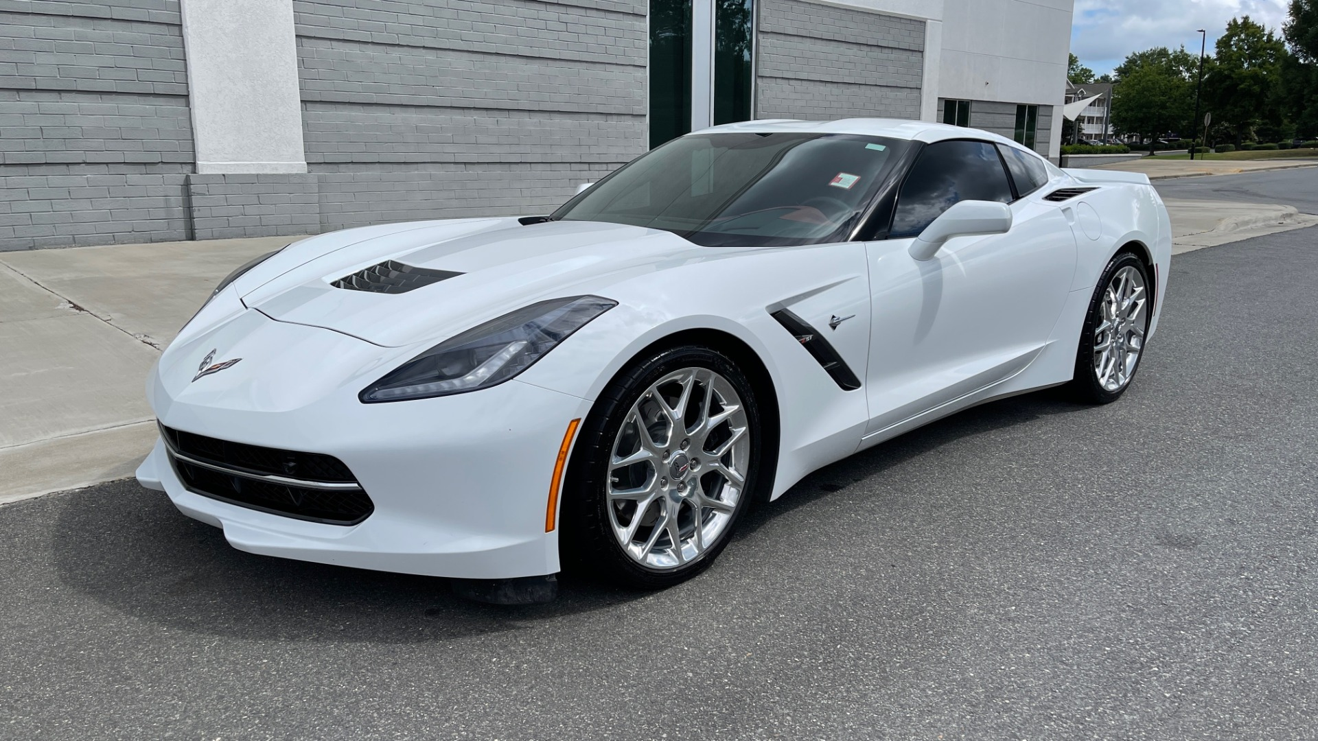 Used 2016 Chevrolet CORVETTE C7 STINGRAY COUPE Z51 3LT / NAV / PERF TRACTION MGMT / REARVIEW for sale Sold at Formula Imports in Charlotte NC 28227 4