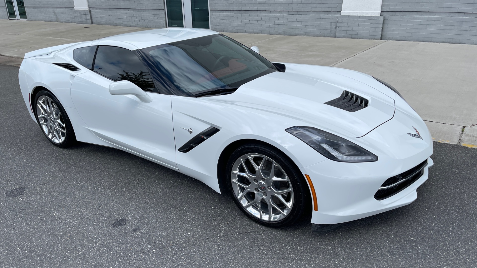 Used 2016 Chevrolet CORVETTE C7 STINGRAY COUPE Z51 3LT / NAV / PERF TRACTION MGMT / REARVIEW for sale Sold at Formula Imports in Charlotte NC 28227 5