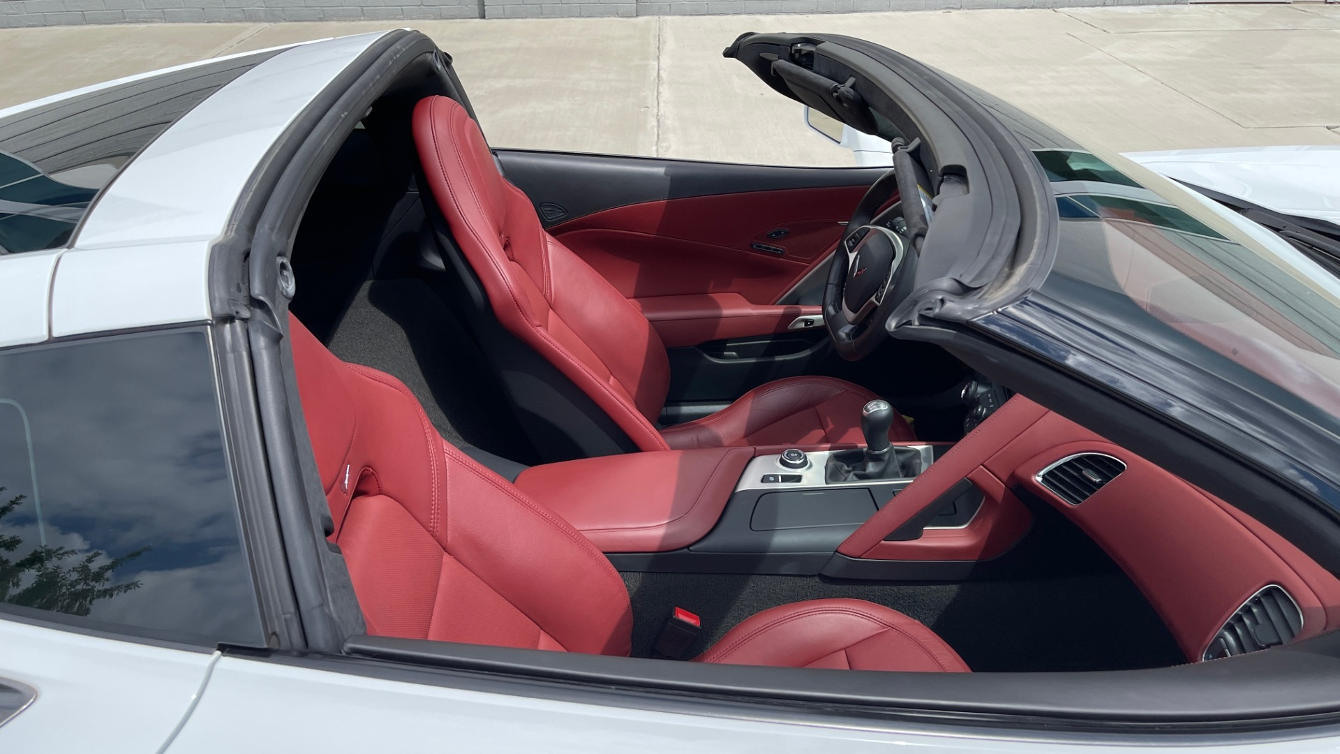 Used 2016 Chevrolet CORVETTE C7 STINGRAY COUPE Z51 3LT / NAV / PERF TRACTION MGMT / REARVIEW for sale Sold at Formula Imports in Charlotte NC 28227 65