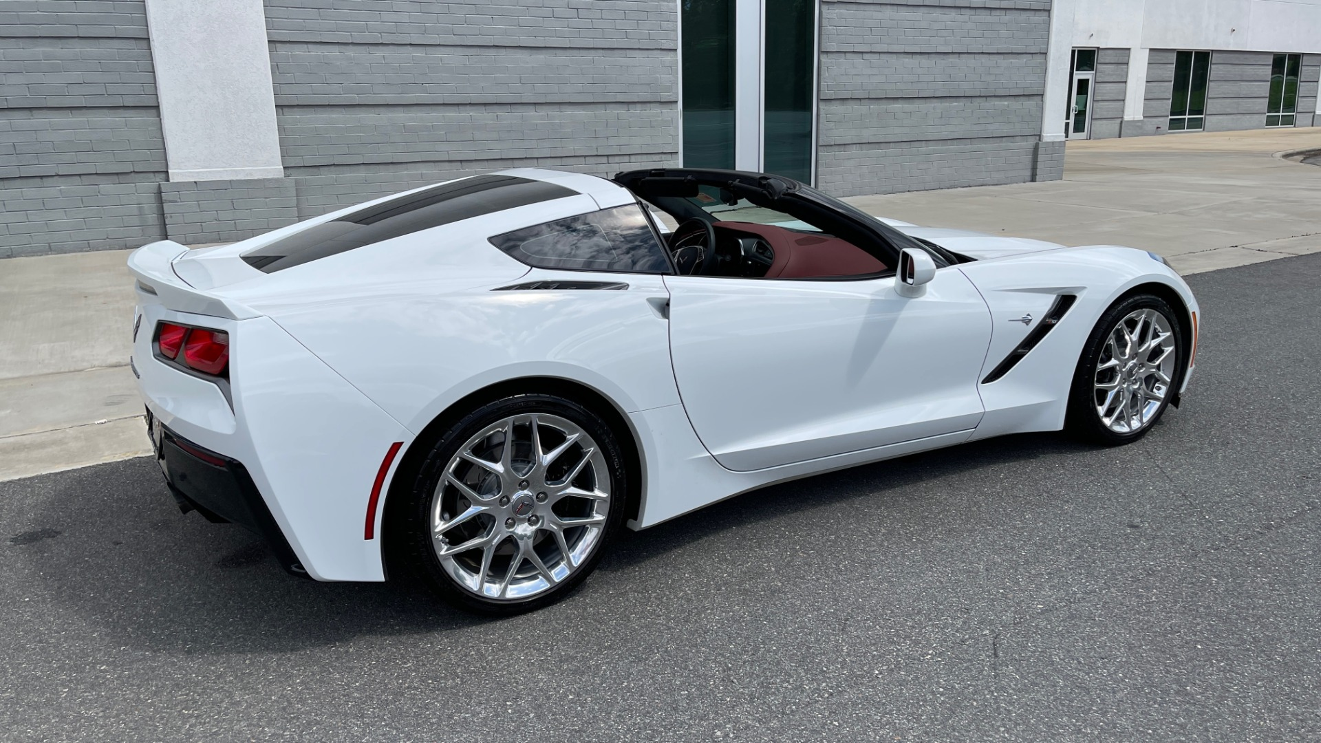 Used 2016 Chevrolet CORVETTE C7 STINGRAY COUPE Z51 3LT / NAV / PERF TRACTION MGMT / REARVIEW for sale Sold at Formula Imports in Charlotte NC 28227 8