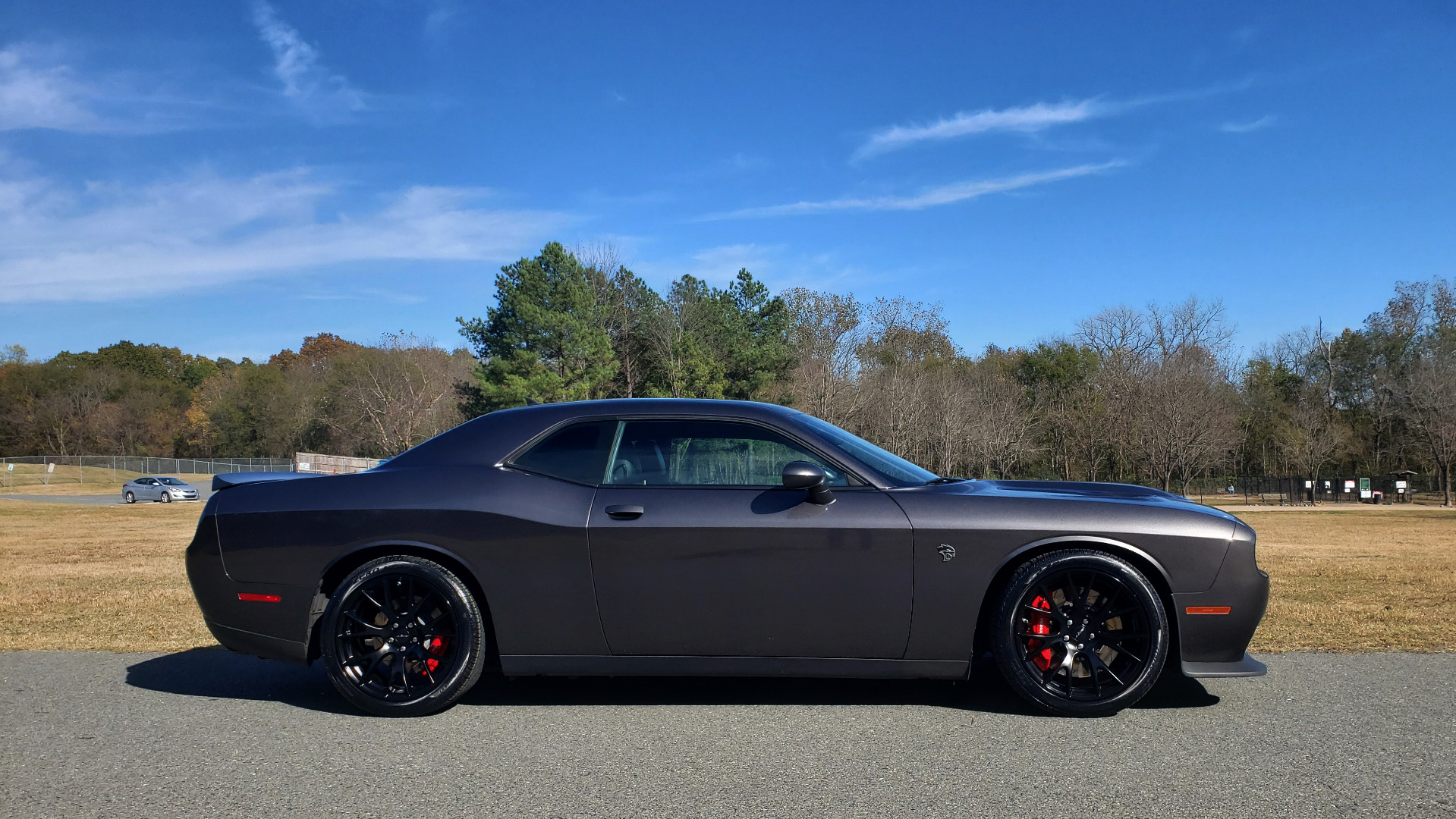 Used 2016 Dodge CHALLENGER SRT HELLCAT COUPE / 6-SPD MAN / NAV / SRT APPS / REARVIEW for sale Sold at Formula Imports in Charlotte NC 28227 11
