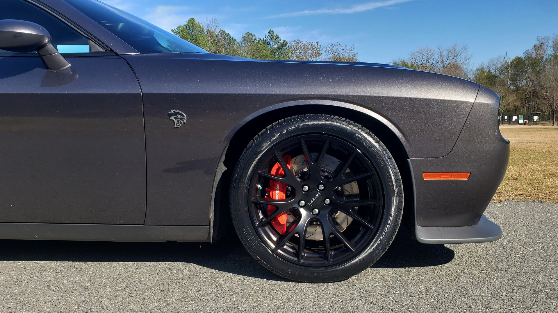 Used 2016 Dodge CHALLENGER SRT HELLCAT COUPE / 6-SPD MAN / NAV / SRT APPS / REARVIEW for sale Sold at Formula Imports in Charlotte NC 28227 15