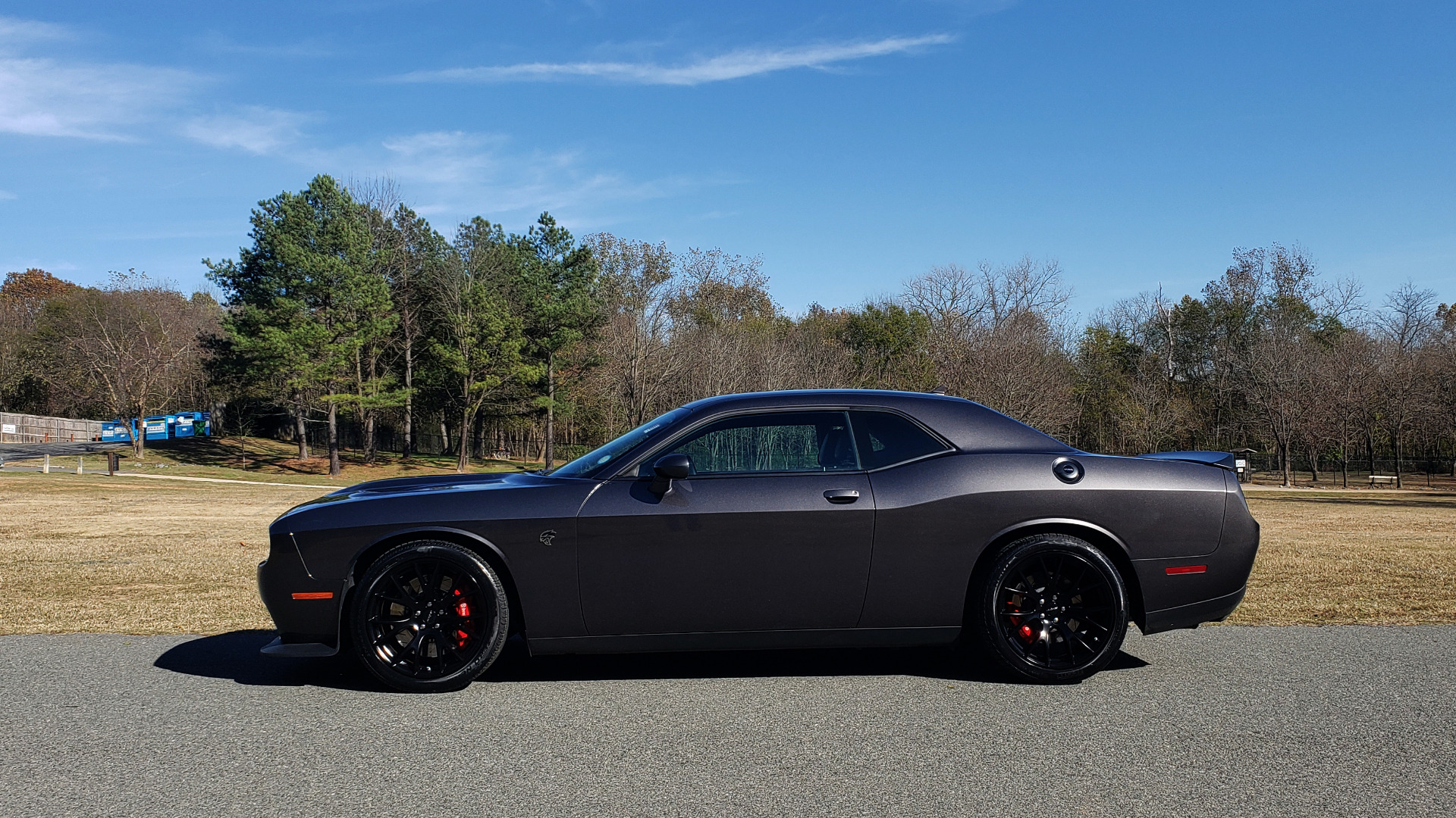 Used 2016 Dodge CHALLENGER SRT HELLCAT COUPE / 6-SPD MAN / NAV / SRT APPS / REARVIEW for sale Sold at Formula Imports in Charlotte NC 28227 3