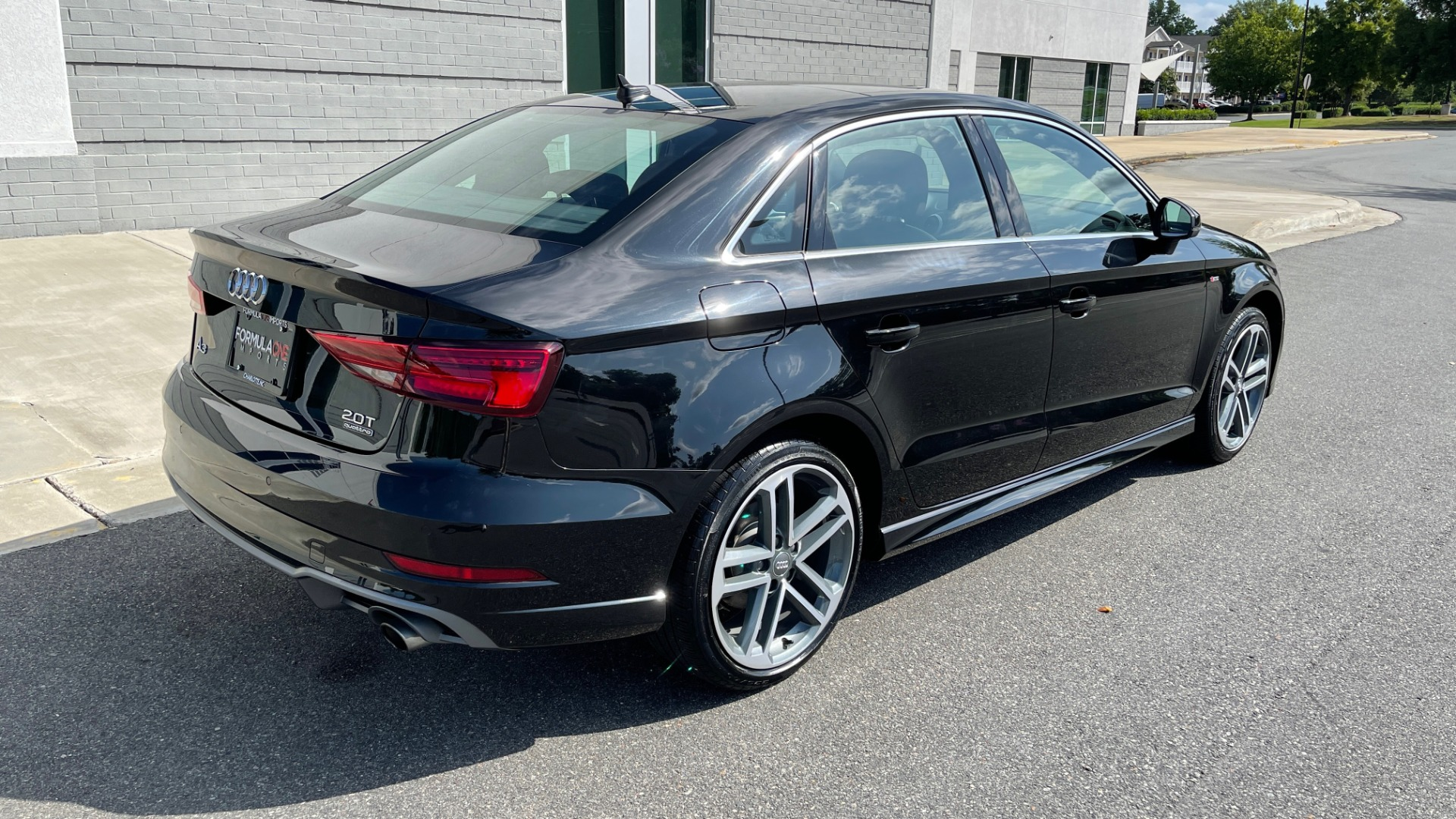 Used 2018 Audi A3 SEDAN PREMIUM PLUS / S-LINE / PANO-ROOF / PARK SYS / REARVIEW for sale $31,795 at Formula Imports in Charlotte NC 28227 2