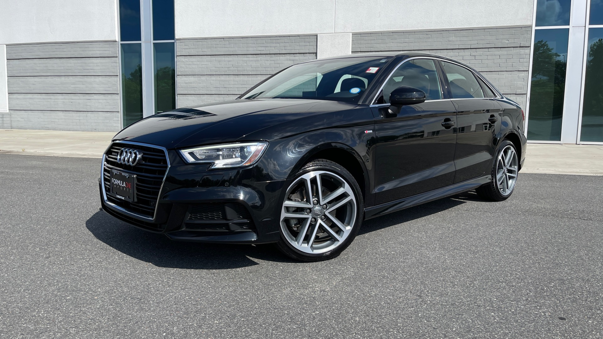 Used 2018 Audi A3 SEDAN PREMIUM PLUS / S-LINE / PANO-ROOF / PARK SYS / REARVIEW for sale $31,795 at Formula Imports in Charlotte NC 28227 1