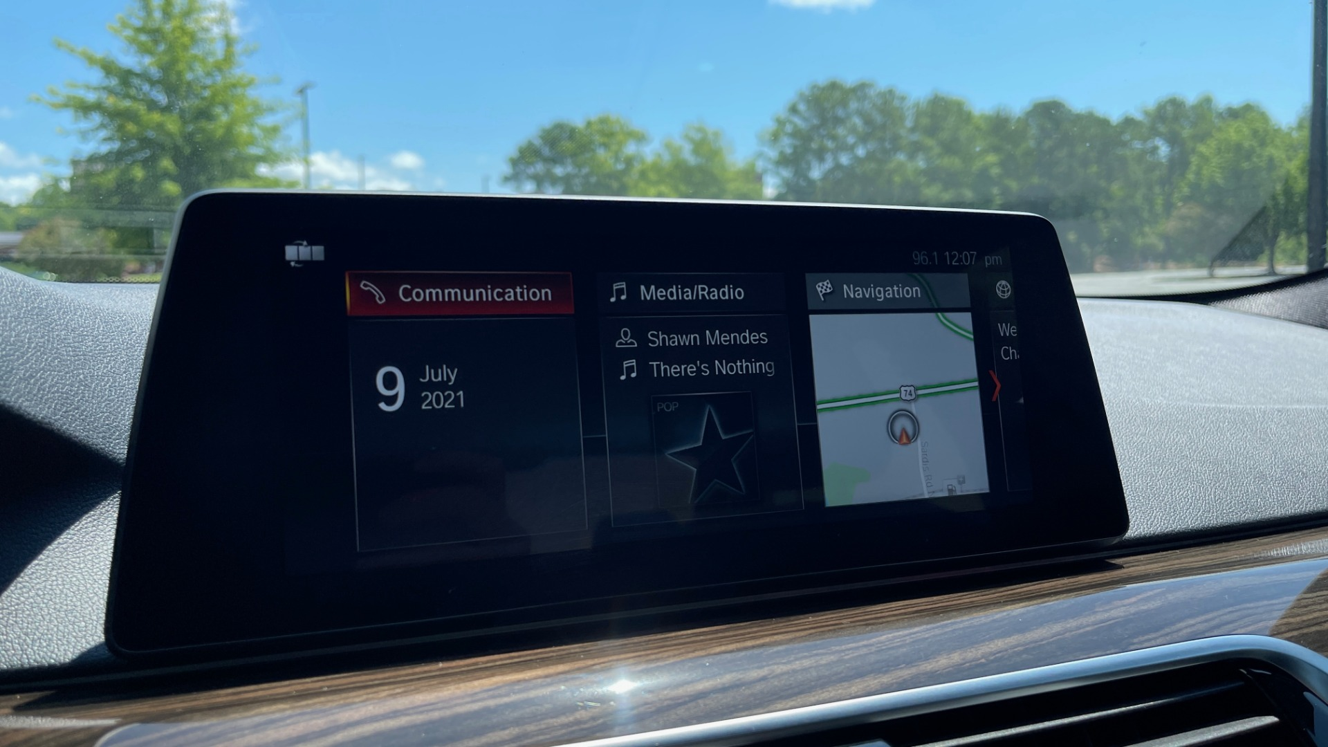 Used 2018 BMW 5 SERIES 540IXDRIVE PREMIUM / PARK ASSIST / KEYLESS ENTRY / SUNROOF / REARVIEW for sale $42,995 at Formula Imports in Charlotte NC 28227 47