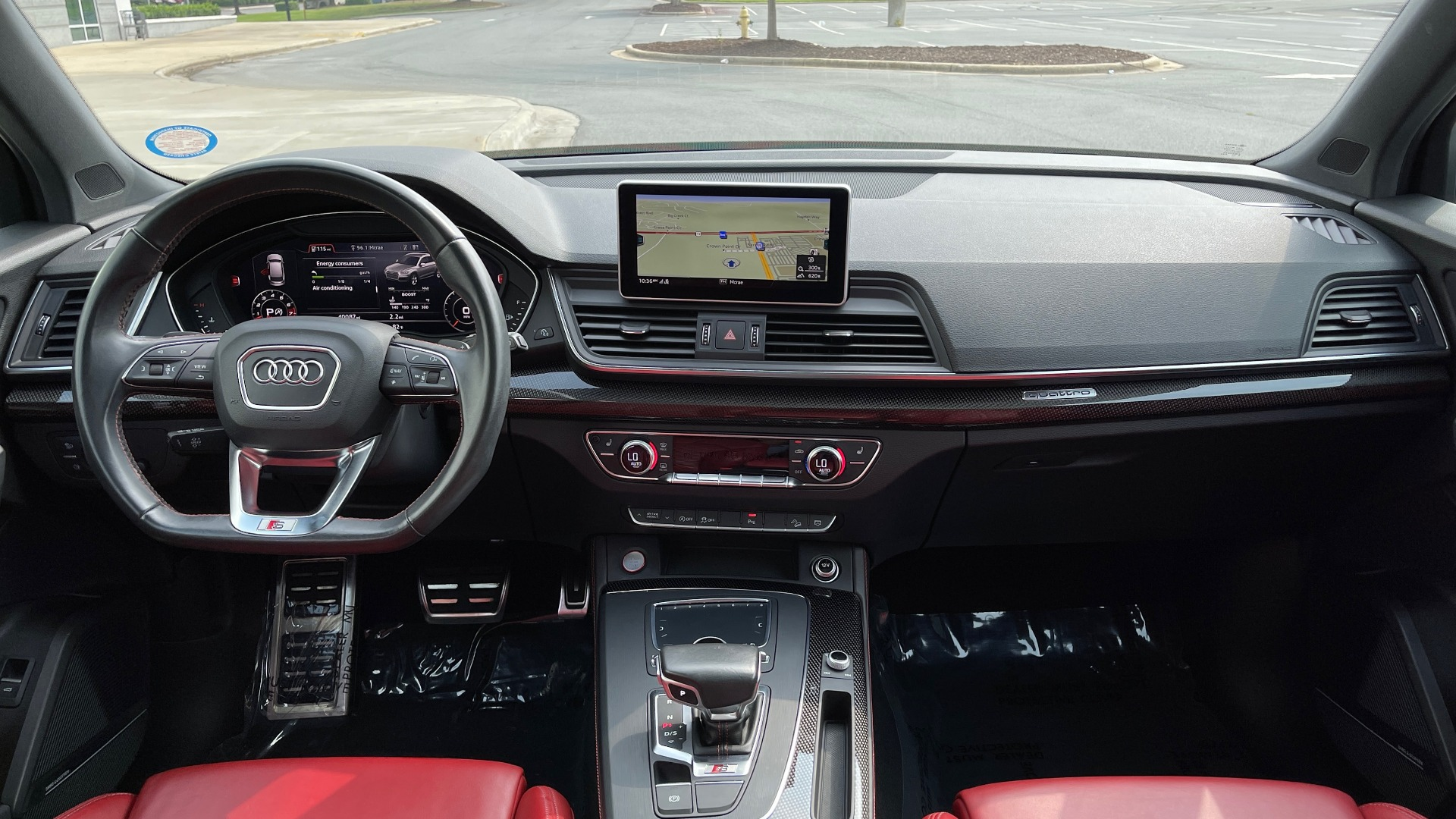 Used 2018 Audi SQ5 PREMIUM PLUS / S-SPORT / NAV / B&O SND / SUNROOF / REARVIEW for sale $43,995 at Formula Imports in Charlotte NC 28227 60
