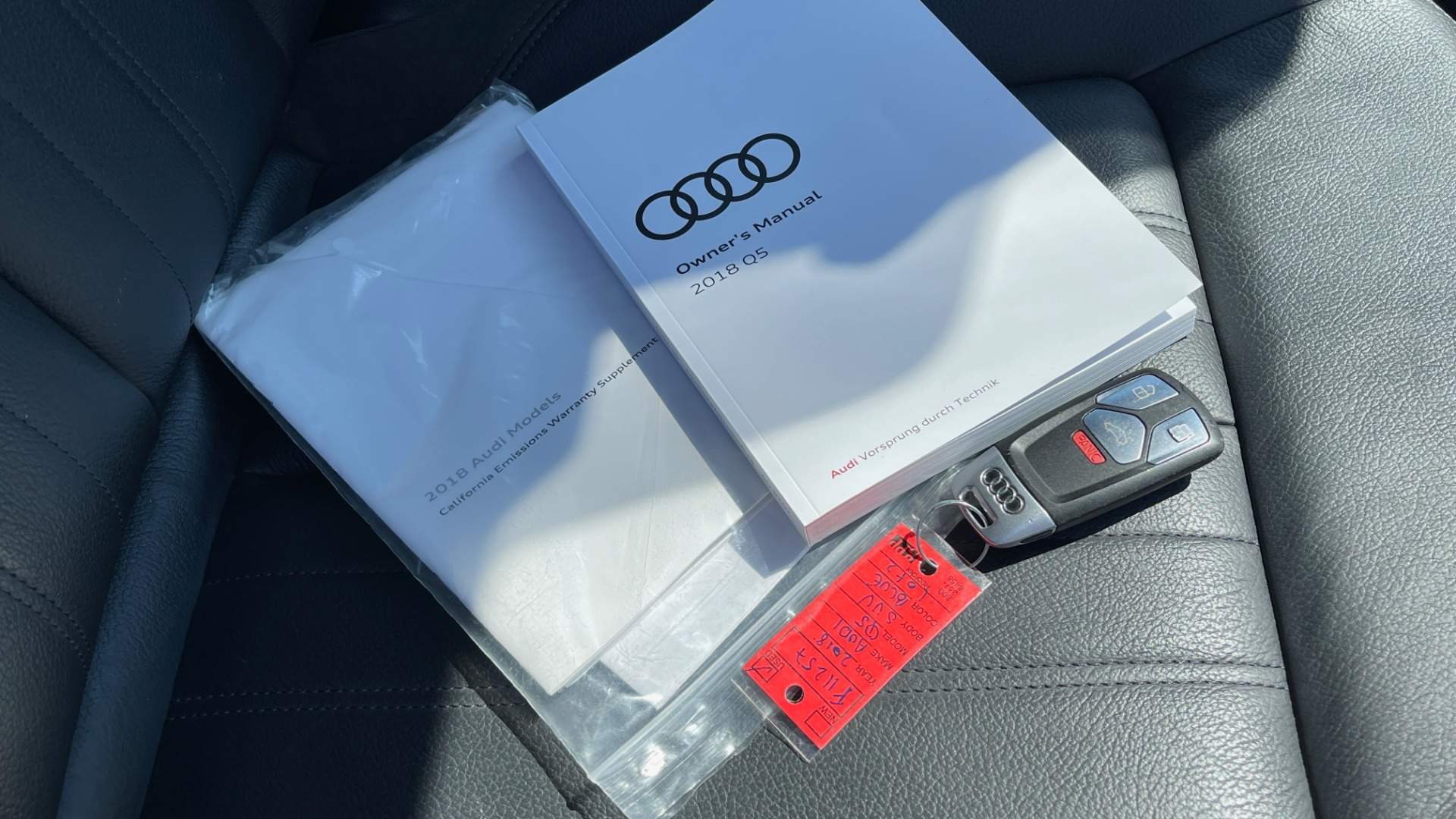 Used 2018 Audi Q5 PREMIUM PLUS / NAV / PANO-ROOF / PARK SYSTEM / REARVIEW for sale $33,695 at Formula Imports in Charlotte NC 28227 64