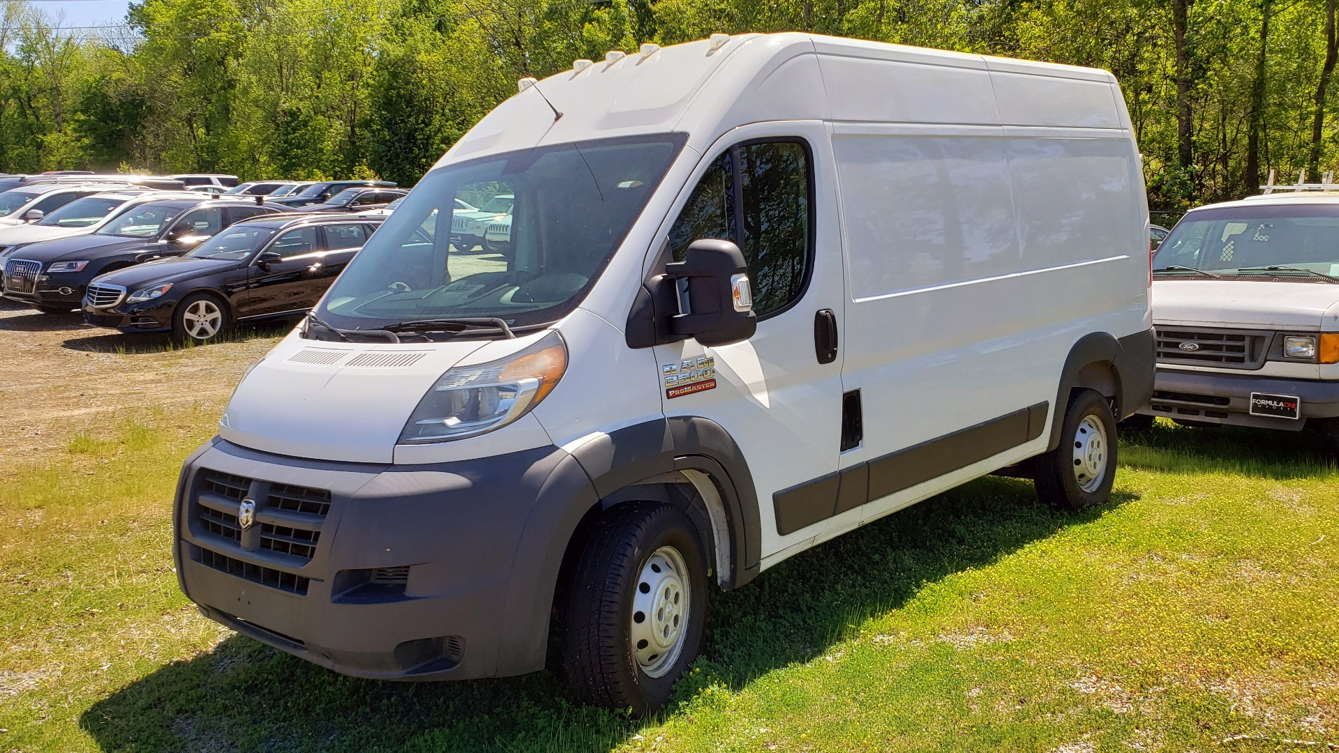 Used 2014 Ram PROMASTER CARGO VAN 2500 HIGH-ROOF CARGO VAN / 136IN WB / STORAGE for sale Sold at Formula Imports in Charlotte NC 28227 1