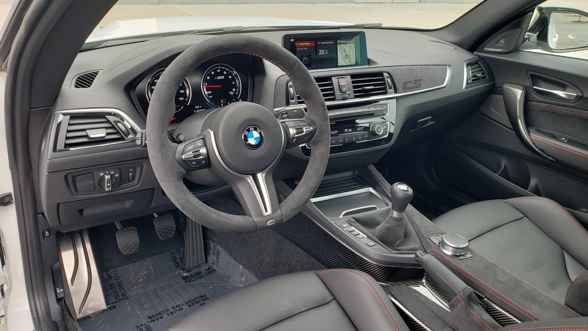 Used 2020 BMW M2 CS COMPETITION 405HP / COUPE / MANUAL / NAV / H/K SOUND / REARVIEW for sale $105,995 at Formula Imports in Charlotte NC 28227 42