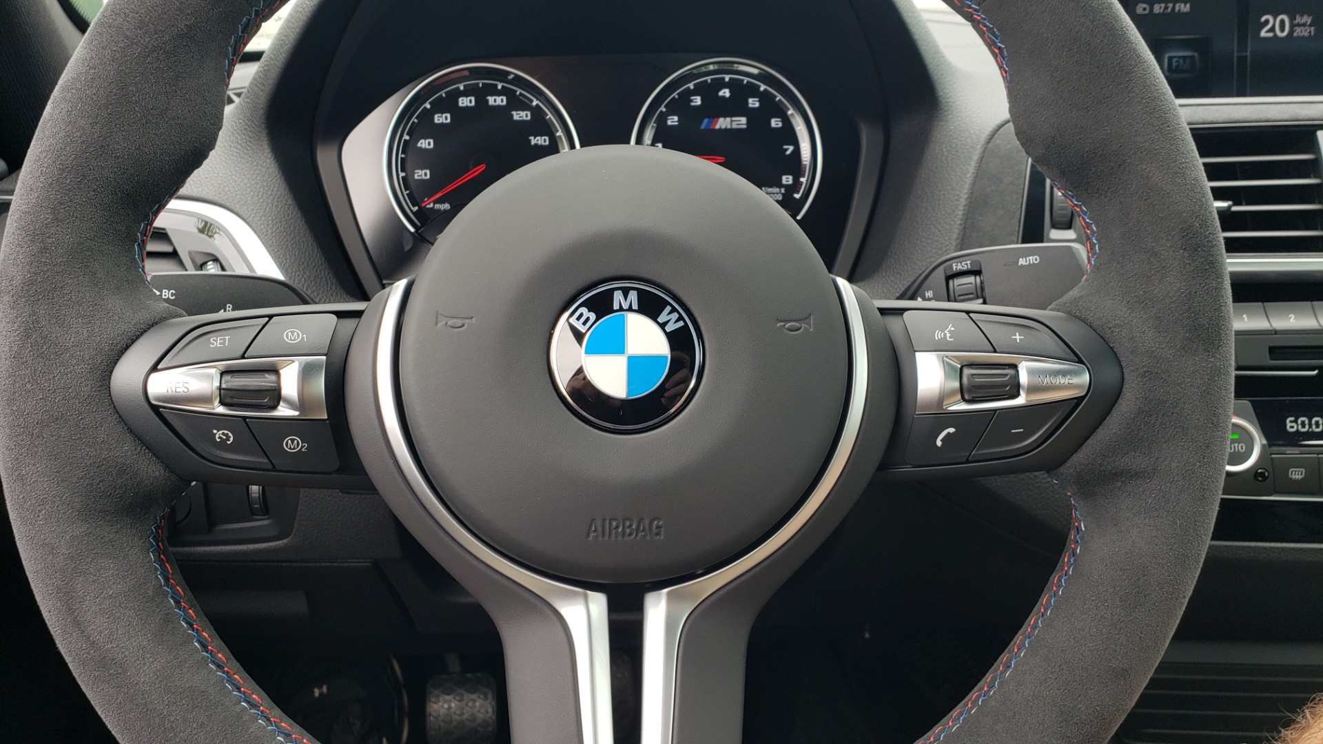 Used 2020 BMW M2 CS COMPETITION 405HP / COUPE / MANUAL / NAV / H/K SOUND / REARVIEW for sale $105,995 at Formula Imports in Charlotte NC 28227 46
