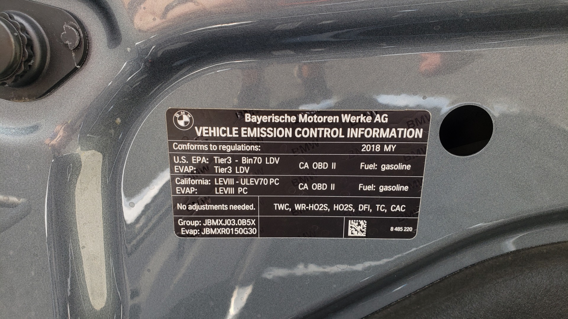 Used 2018 BMW 5 SERIES 540I XDRIVE PREMIUM / EXECUTIVE / LUXURY / H/K SND / REMOTE CONTROL PARKING for sale $40,995 at Formula Imports in Charlotte NC 28227 15