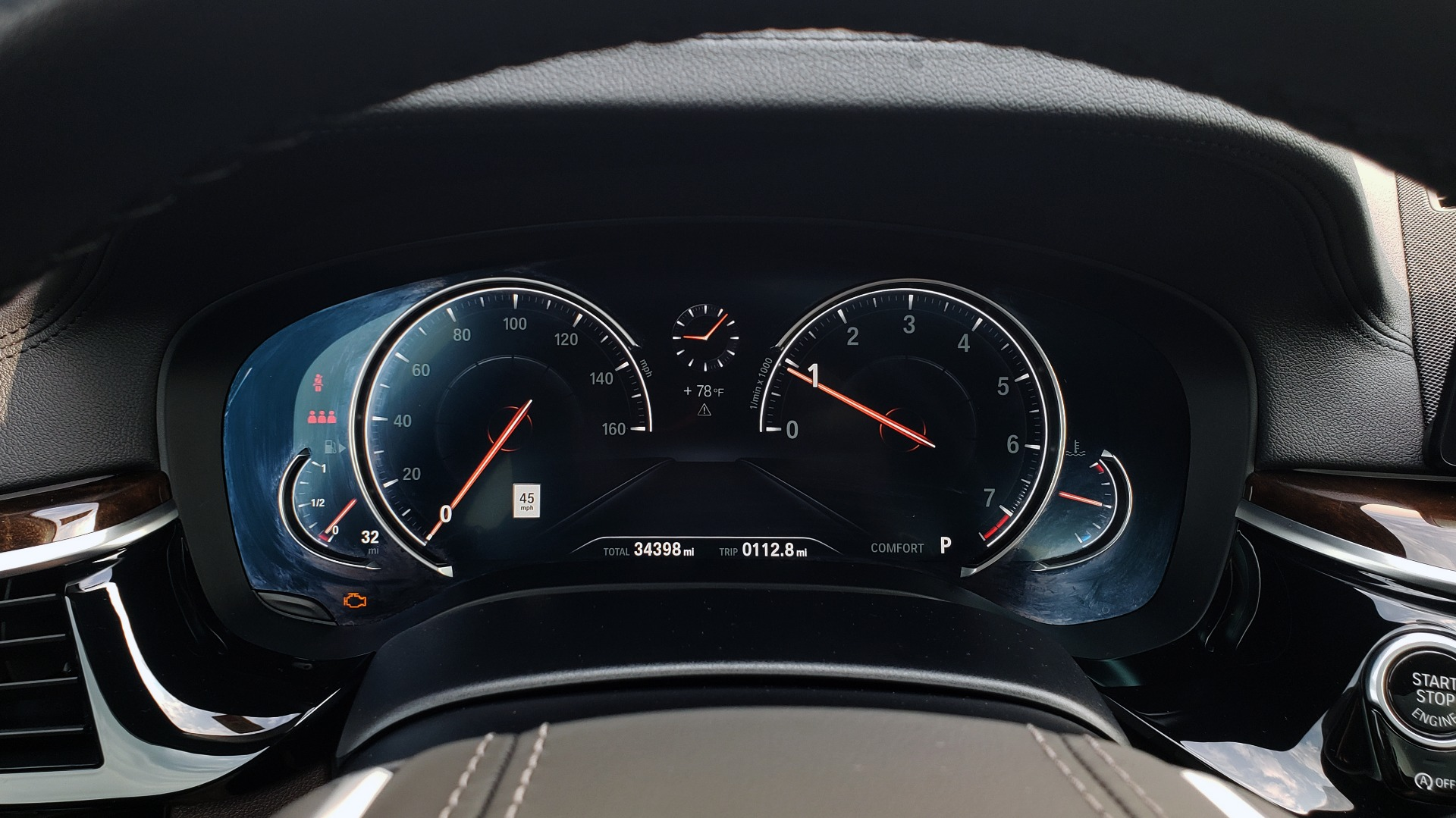 Used 2018 BMW 5 SERIES 540I XDRIVE PREMIUM / EXECUTIVE / LUXURY / H/K SND / REMOTE CONTROL PARKING for sale $40,995 at Formula Imports in Charlotte NC 28227 40
