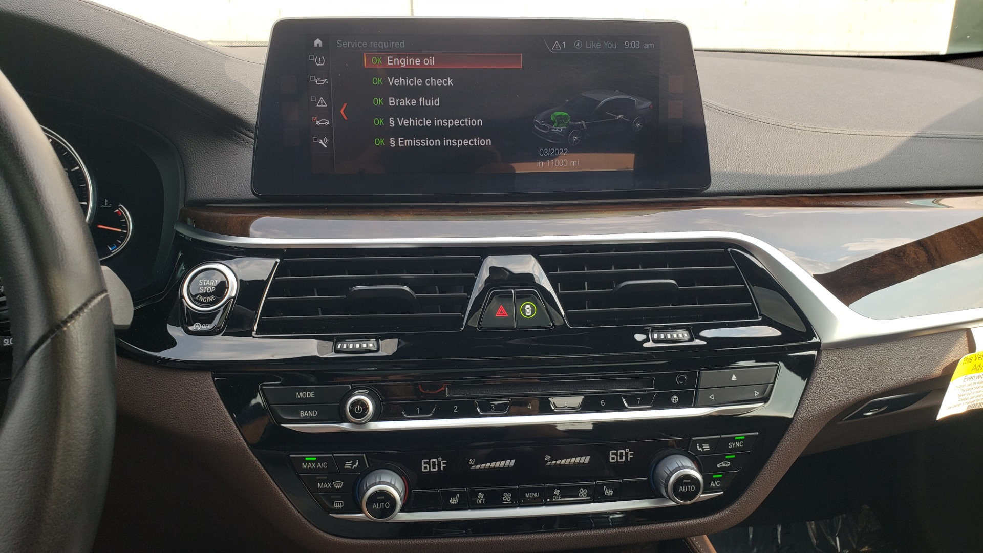 Used 2018 BMW 5 SERIES 540I XDRIVE PREMIUM / EXECUTIVE / LUXURY / H/K SND / REMOTE CONTROL PARKING for sale $40,995 at Formula Imports in Charlotte NC 28227 47