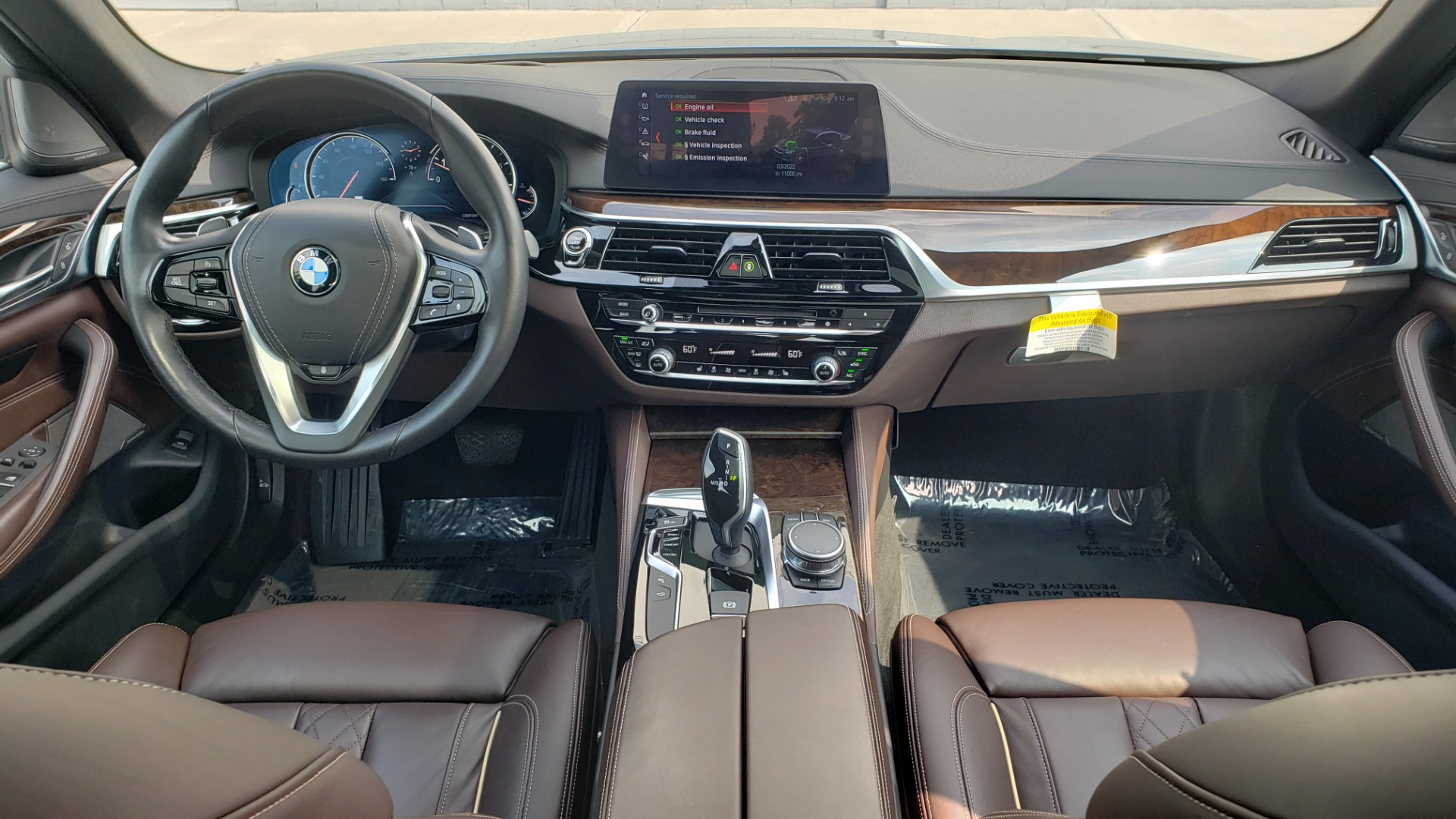 Used 2018 BMW 5 SERIES 540I XDRIVE PREMIUM / EXECUTIVE / LUXURY / H/K SND / REMOTE CONTROL PARKING for sale $40,995 at Formula Imports in Charlotte NC 28227 74