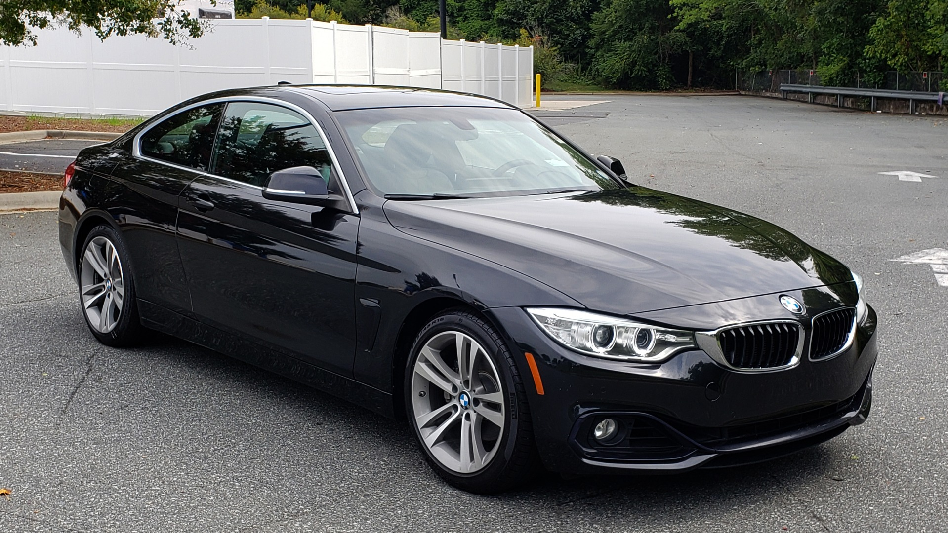 Used 2016 BMW 4 SERIES 428I PREMIUM COUPE / 2.0L / AUTO / NAV / SUNROOF / HEATED SEATS for sale $22,995 at Formula Imports in Charlotte NC 28227 8