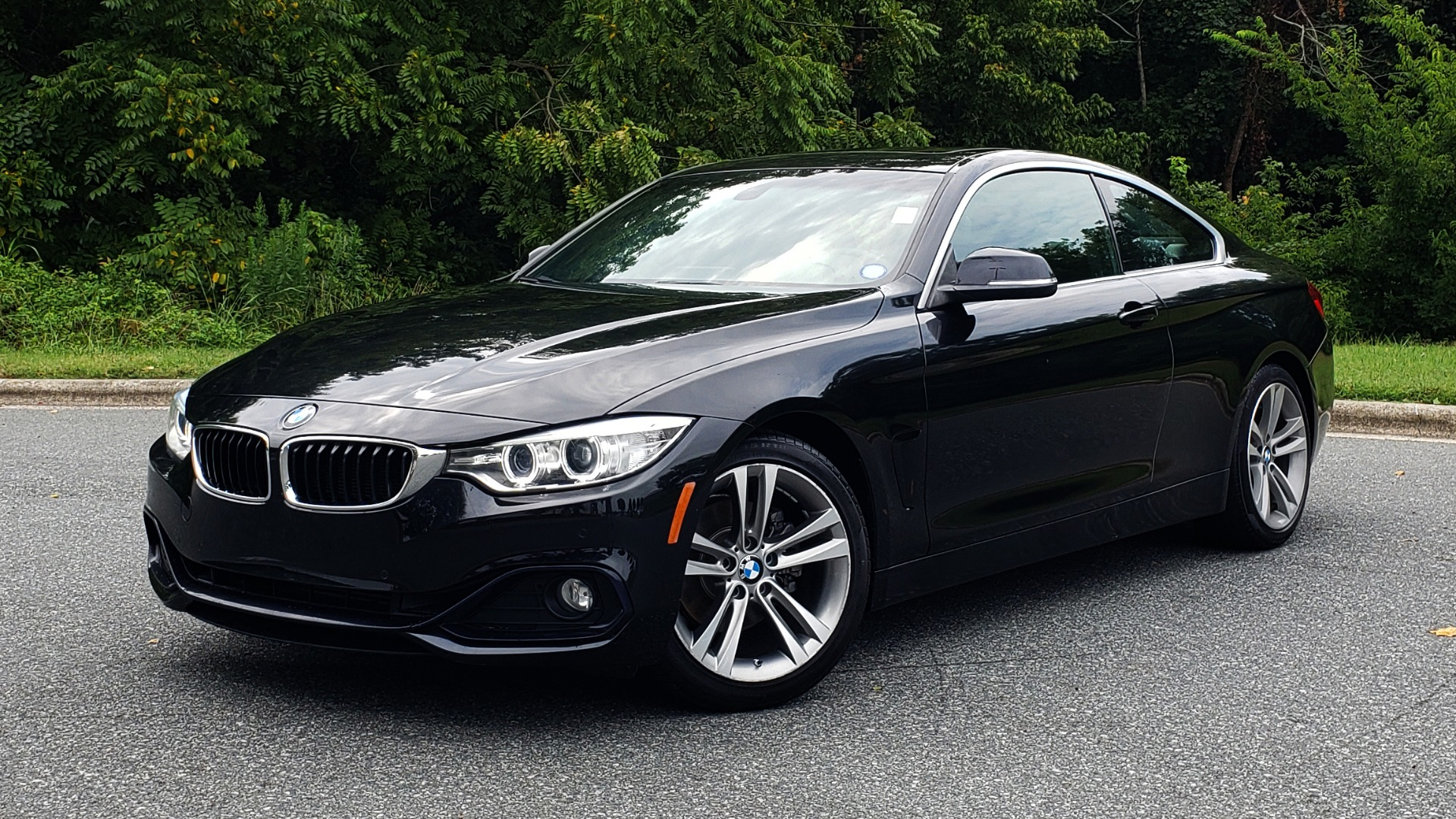 Used 2016 BMW 4 SERIES 428I PREMIUM COUPE / 2.0L / AUTO / NAV / SUNROOF / HEATED SEATS for sale $22,995 at Formula Imports in Charlotte NC 28227 1